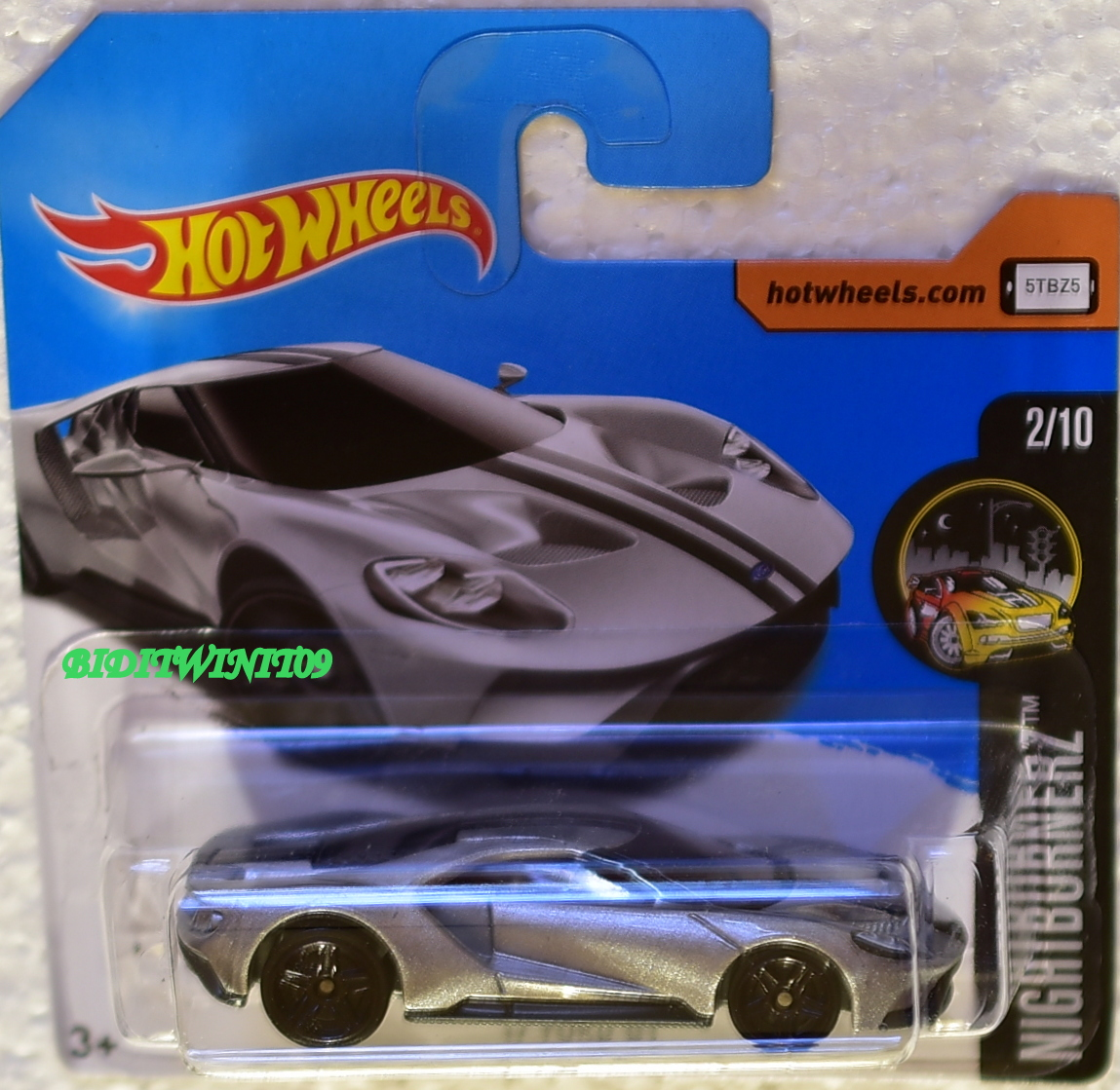 Beautiful Hot Wheels U Ford Gt Silver Short Card With Ford Gt Silver