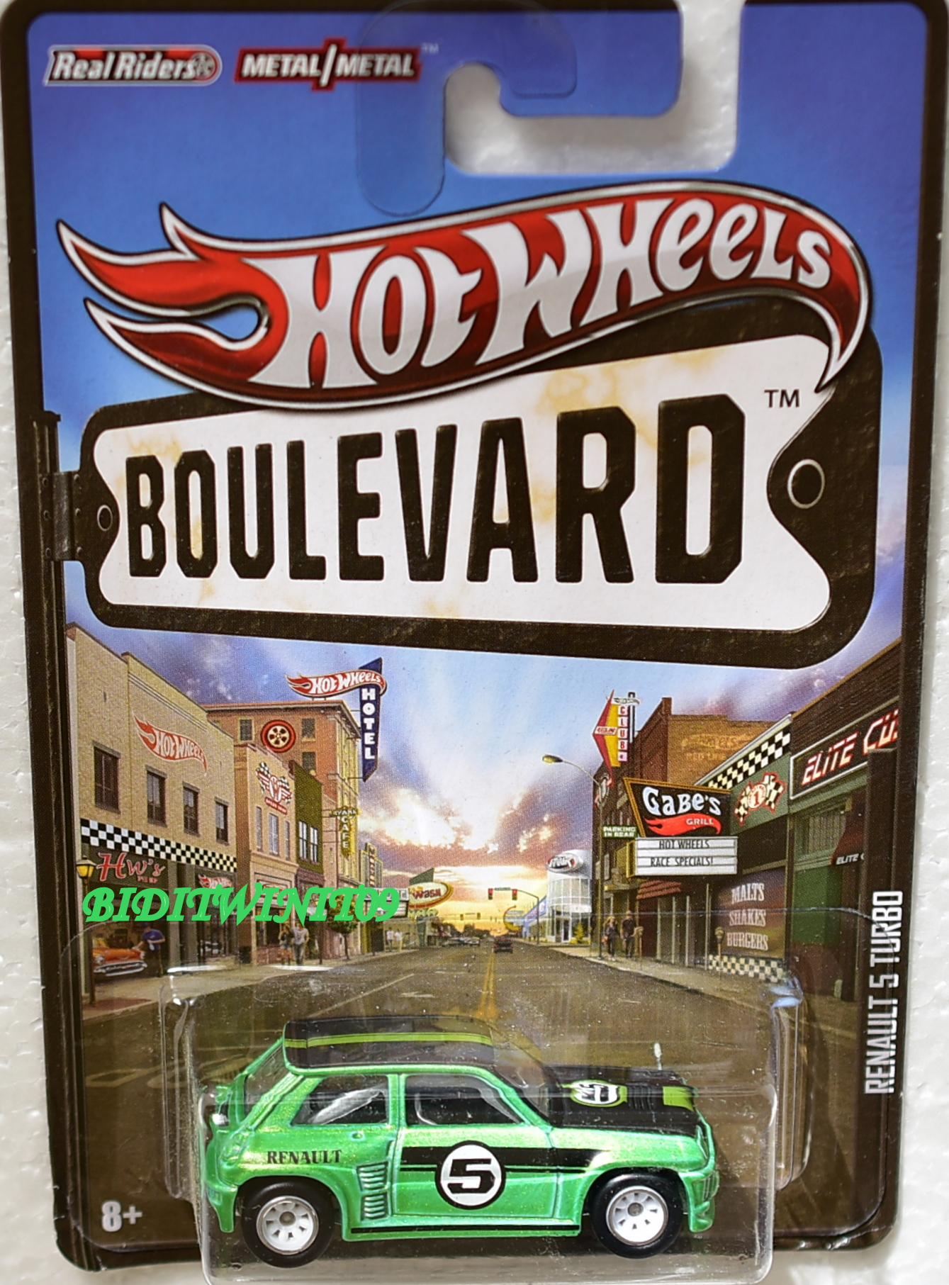 HOT WHEELS BOULEVARD RENAULT 5 TURBO GREEN