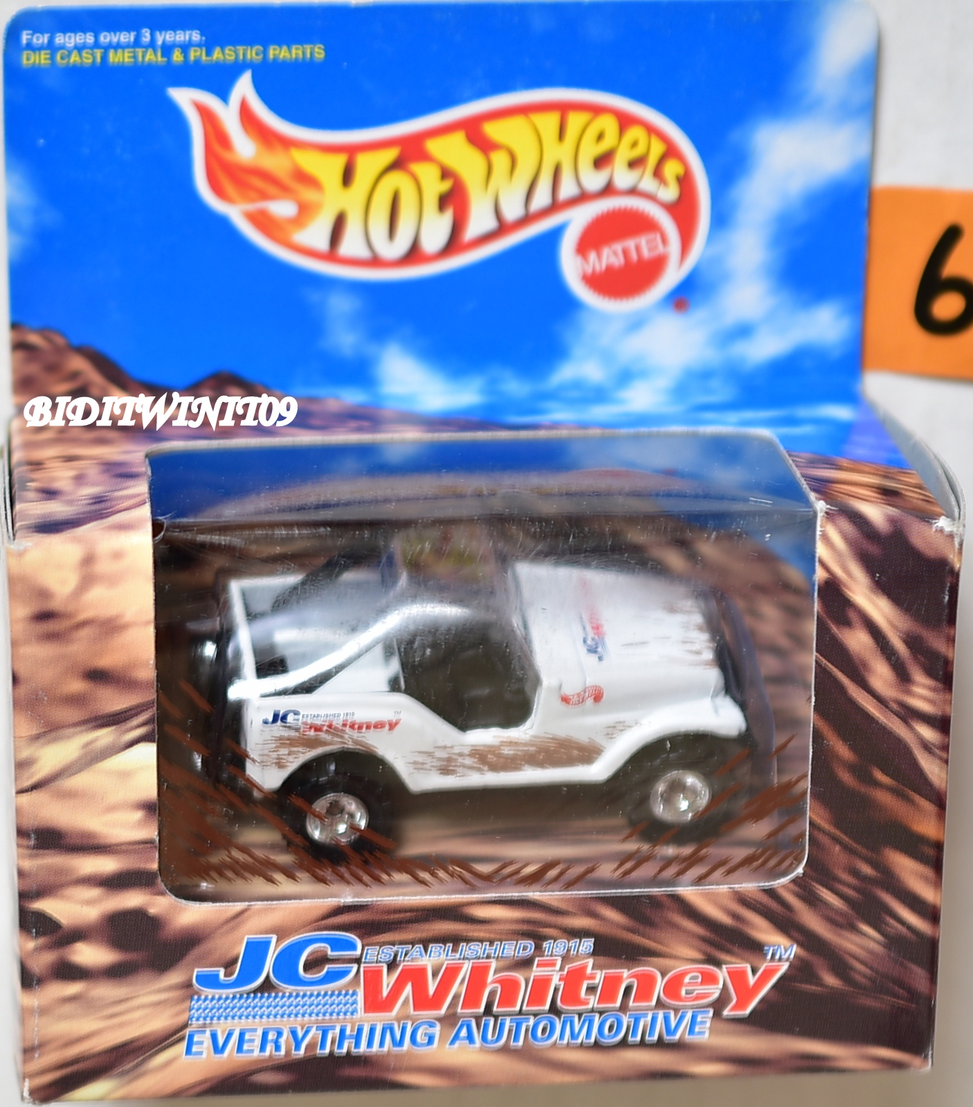 HOT WHEELS 1997 JC WHITNEY ROLL PATROL JEEP E+