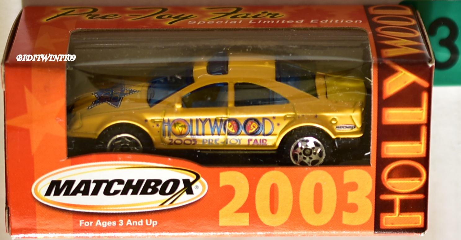 MATCHBOX 2003 PRE-TOY FAIR HOLLYWOOD