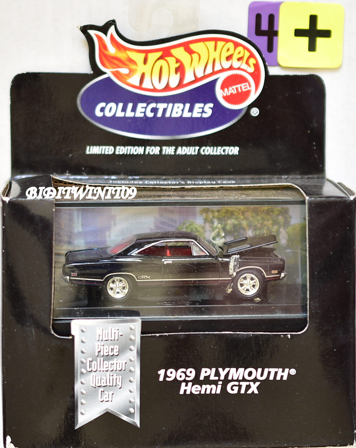 1998 HOT WHEELS COLLECTIBLES - 1969 PLYMOUTH HEMI GTX E+