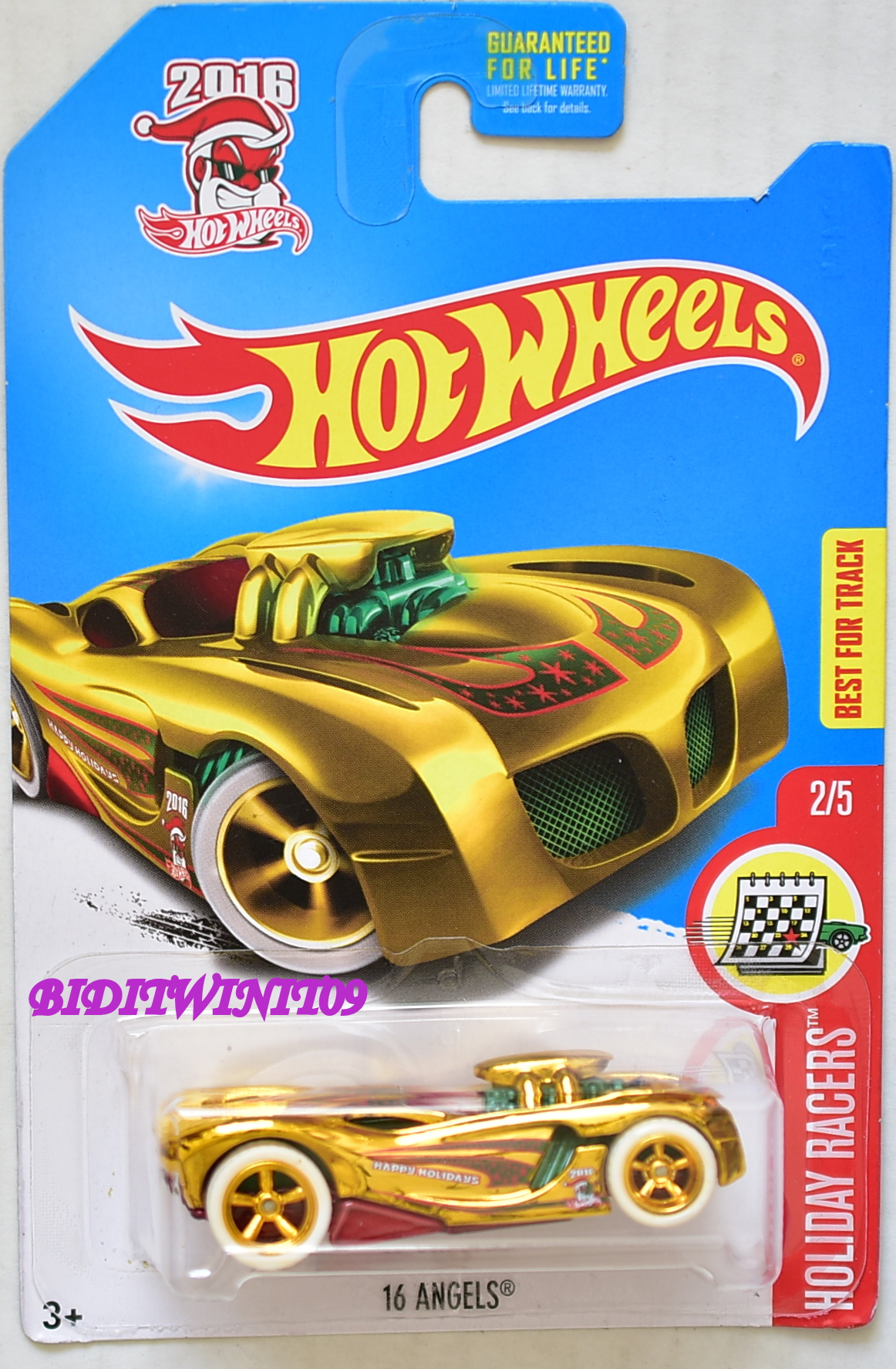 HOT WHEELS 2017 SUPER TREASURE HUNT 16 ANGELS