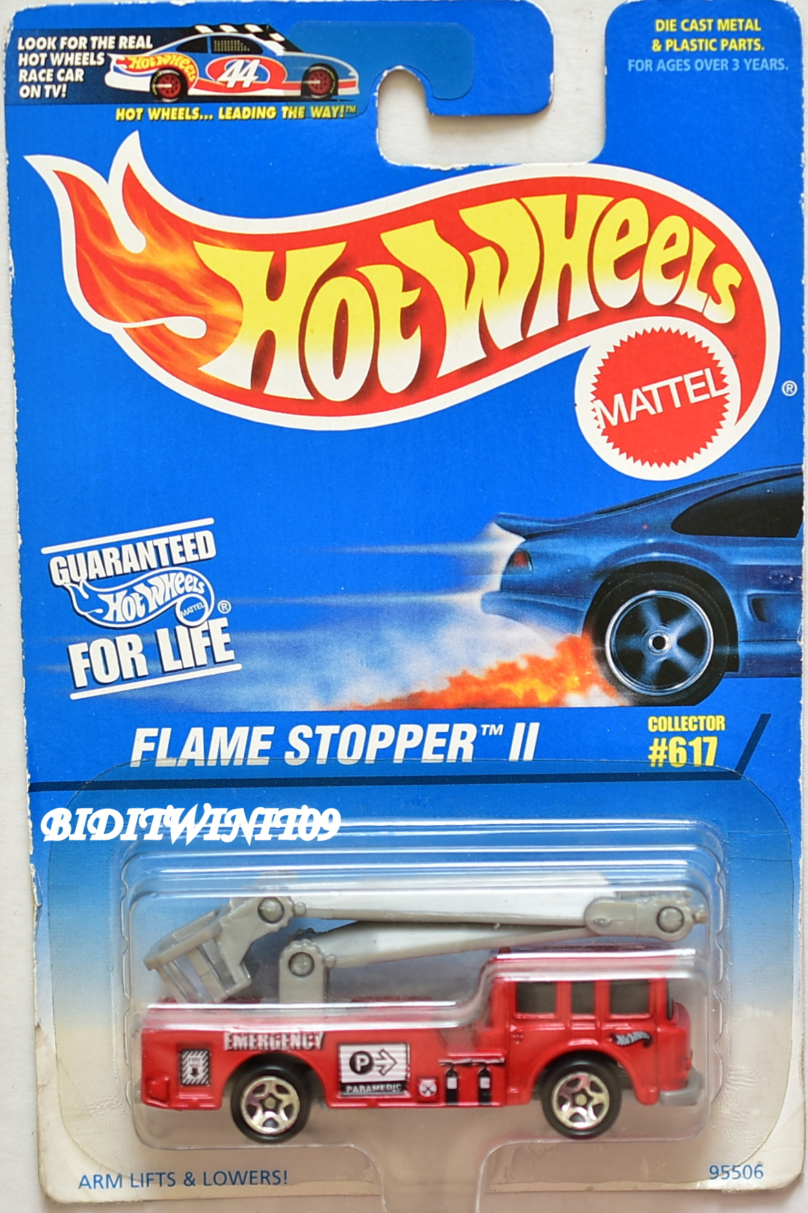 HOT WHEELS 1997 FLAME STOPPER II #617 RED