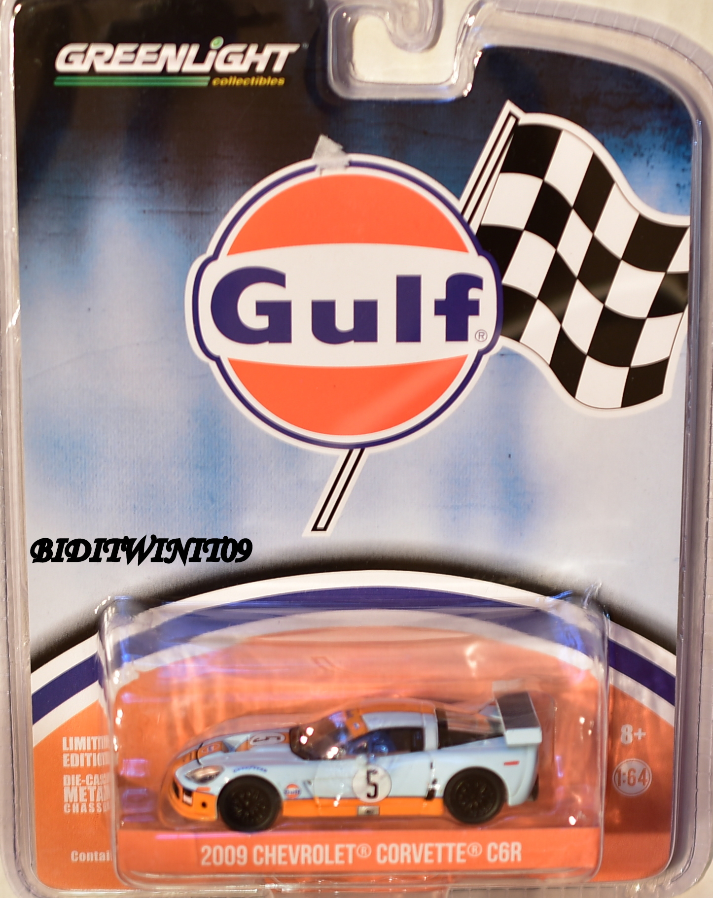 2017 GREENLIGHT GULF 2009 CHEVROLET CORVETTE C6R