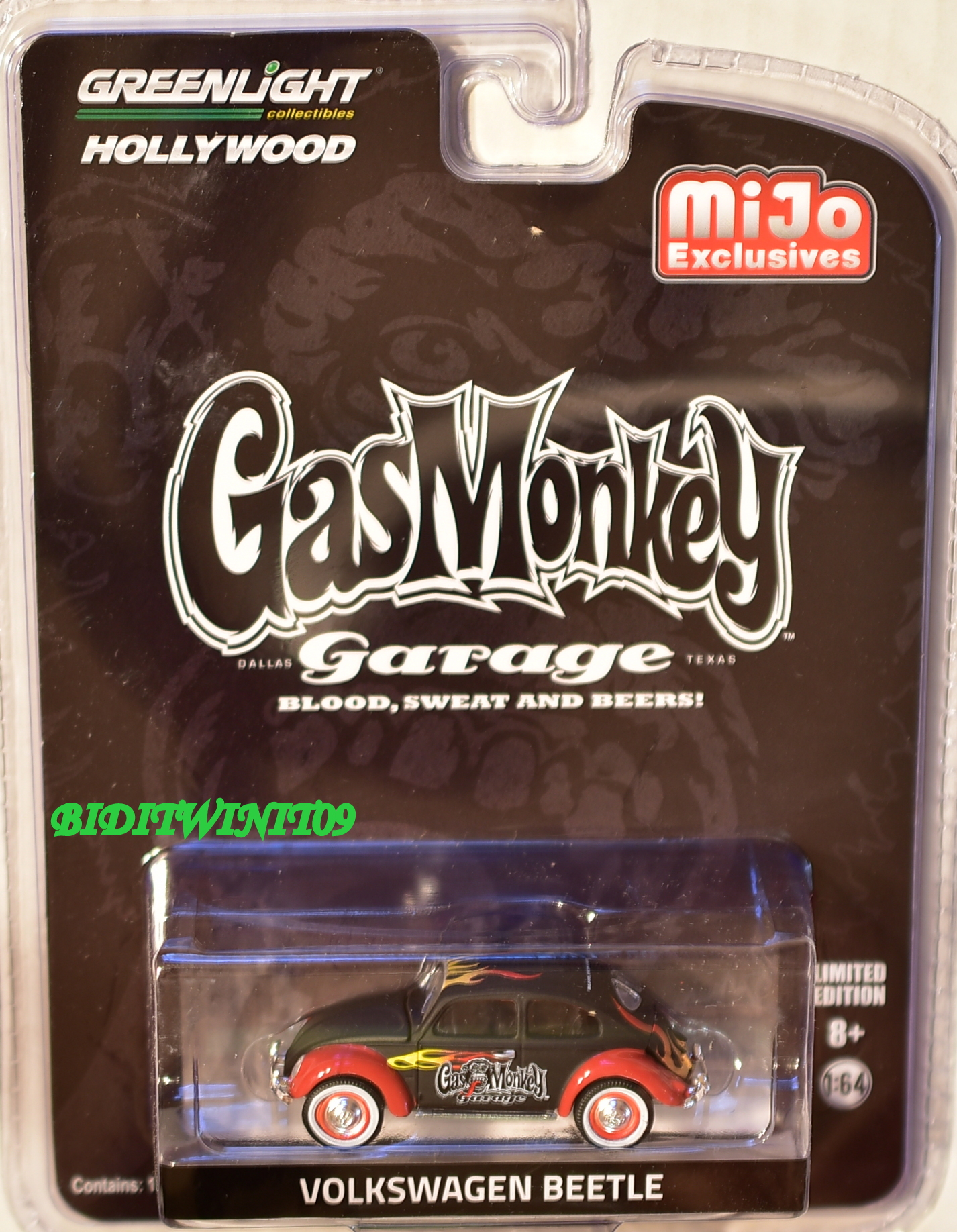 2017 GREENLIGHT GASMONKEY GARAGE VOLKSWAGEN BEETLE