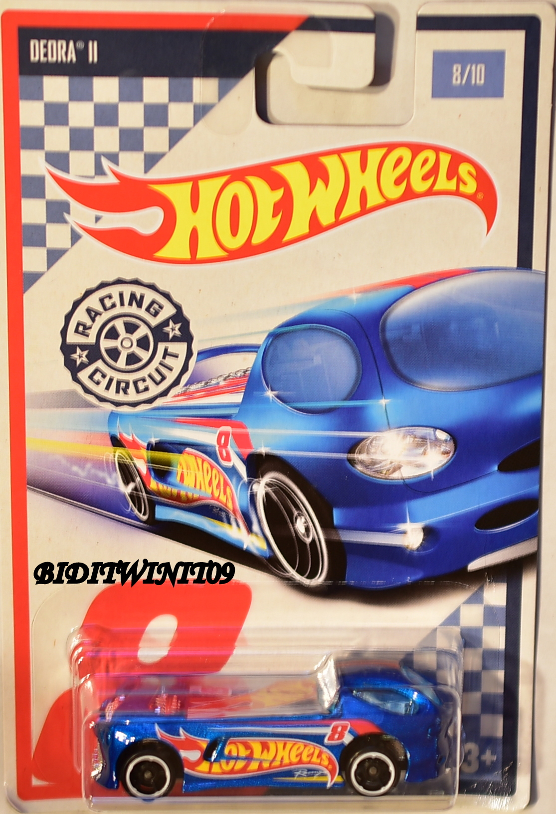 HOT WHEELS RACING CIRCUIT #8/10 DEORA II