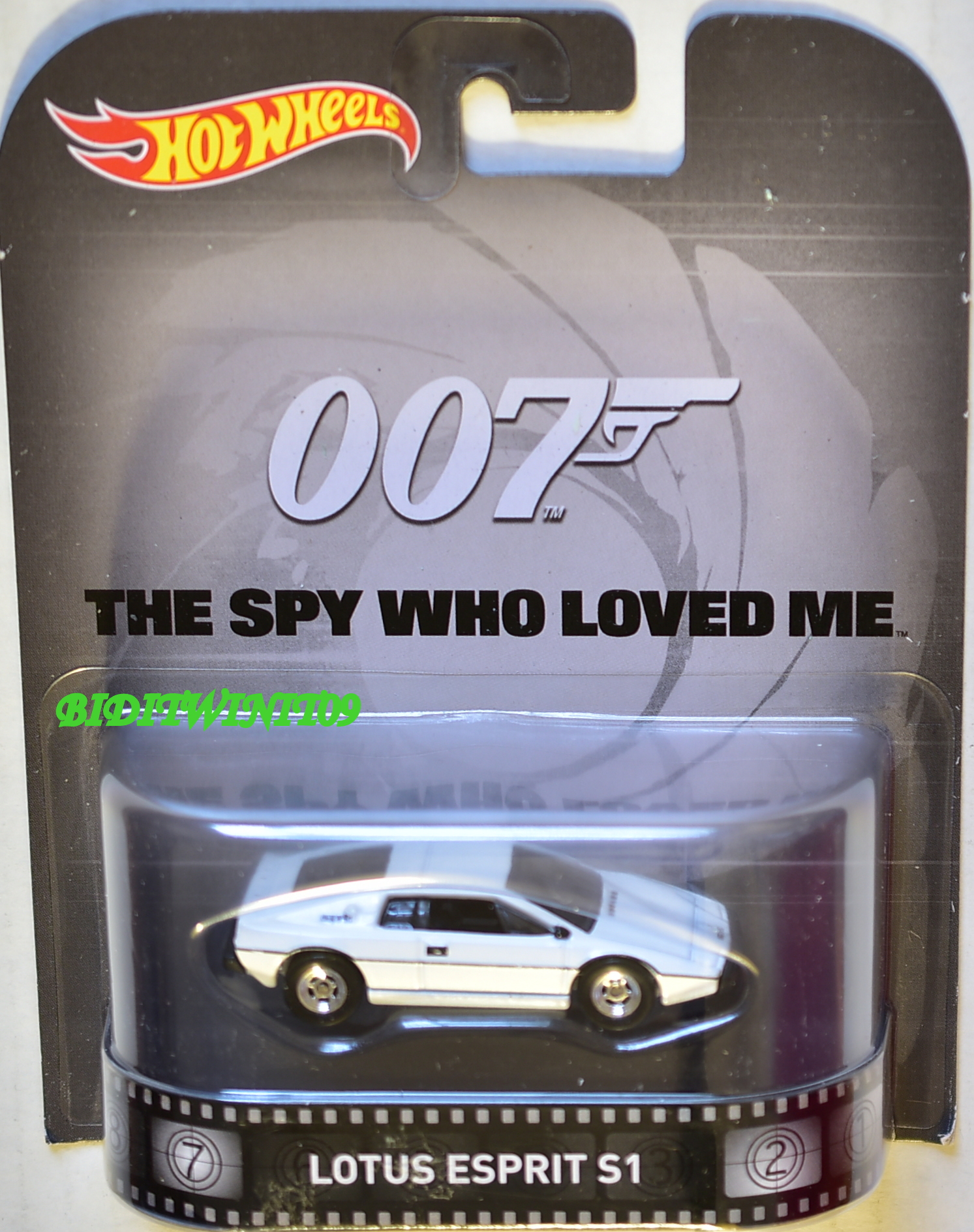 HOT WHEELS RETRO ENTERTAINMENT 007 LOTUS ESPRIT S1 WHITE