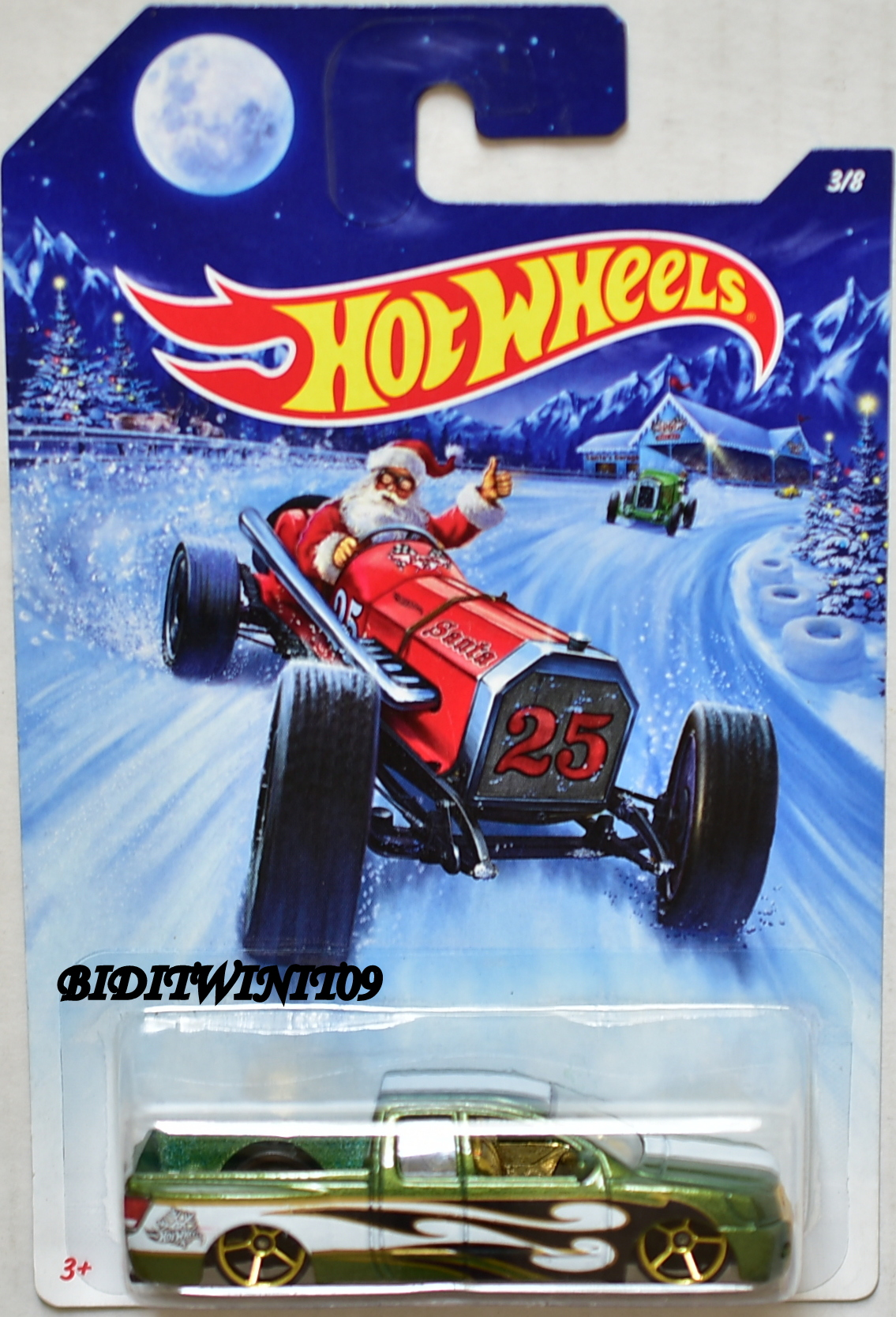 HOT WHEELS 2014 HOLIDAY HOT RODS - NISSAN TITAN #3/8