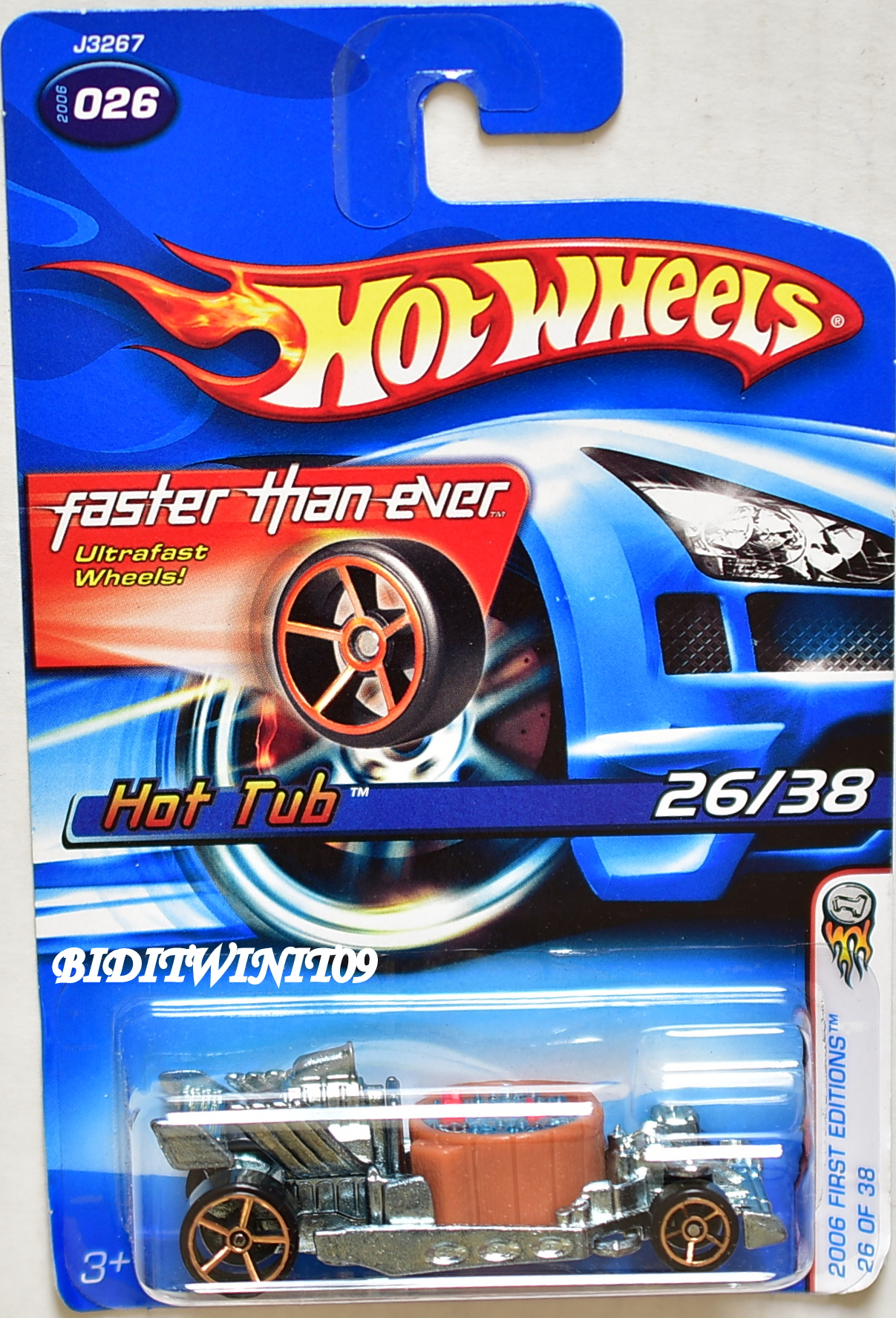 HOT WHEELS 2006 FIRST EDITIONS HOT TUB #026 FTE [0001058] - $7.39 ...