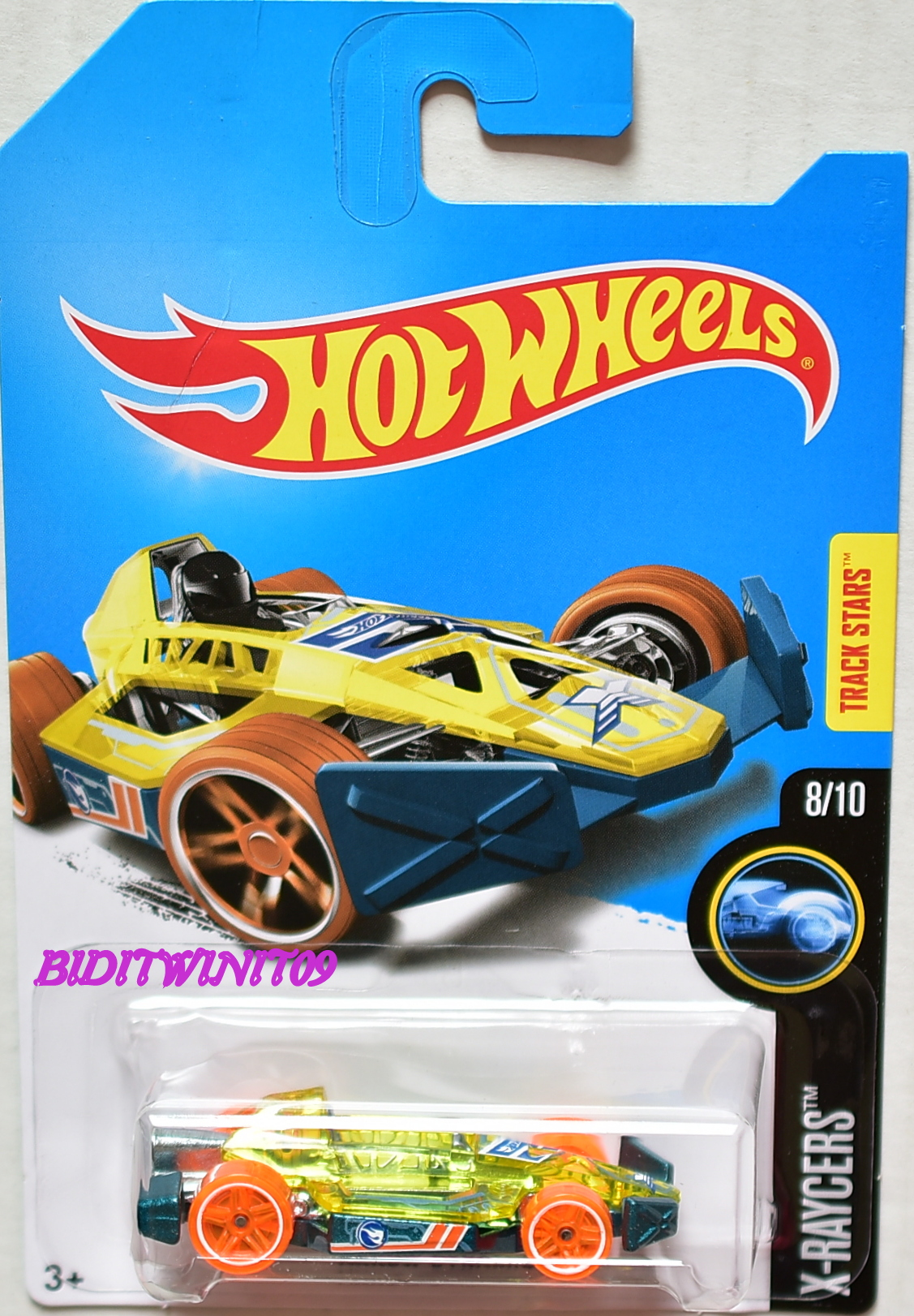 HOT WHEELS 2017 REGULAR TREASURE HUNT ARROW DYNAMIC