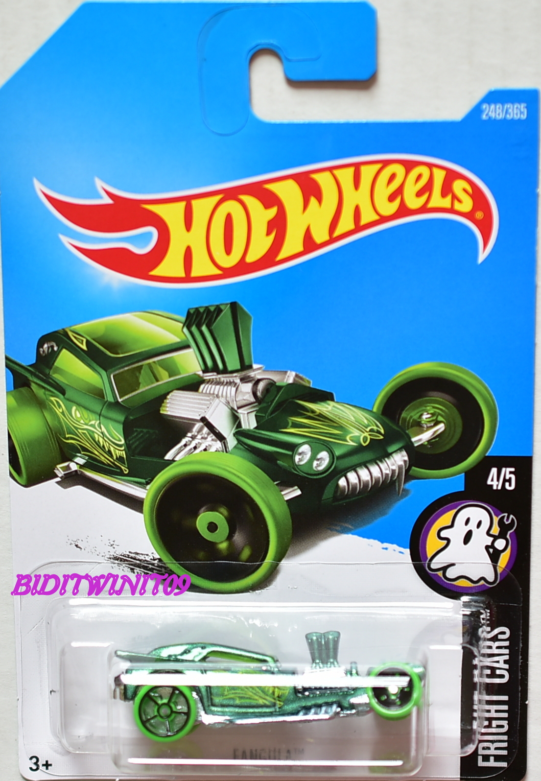 HOT WHEELS 2017 FRIGHT CARS FANGULA #4/5