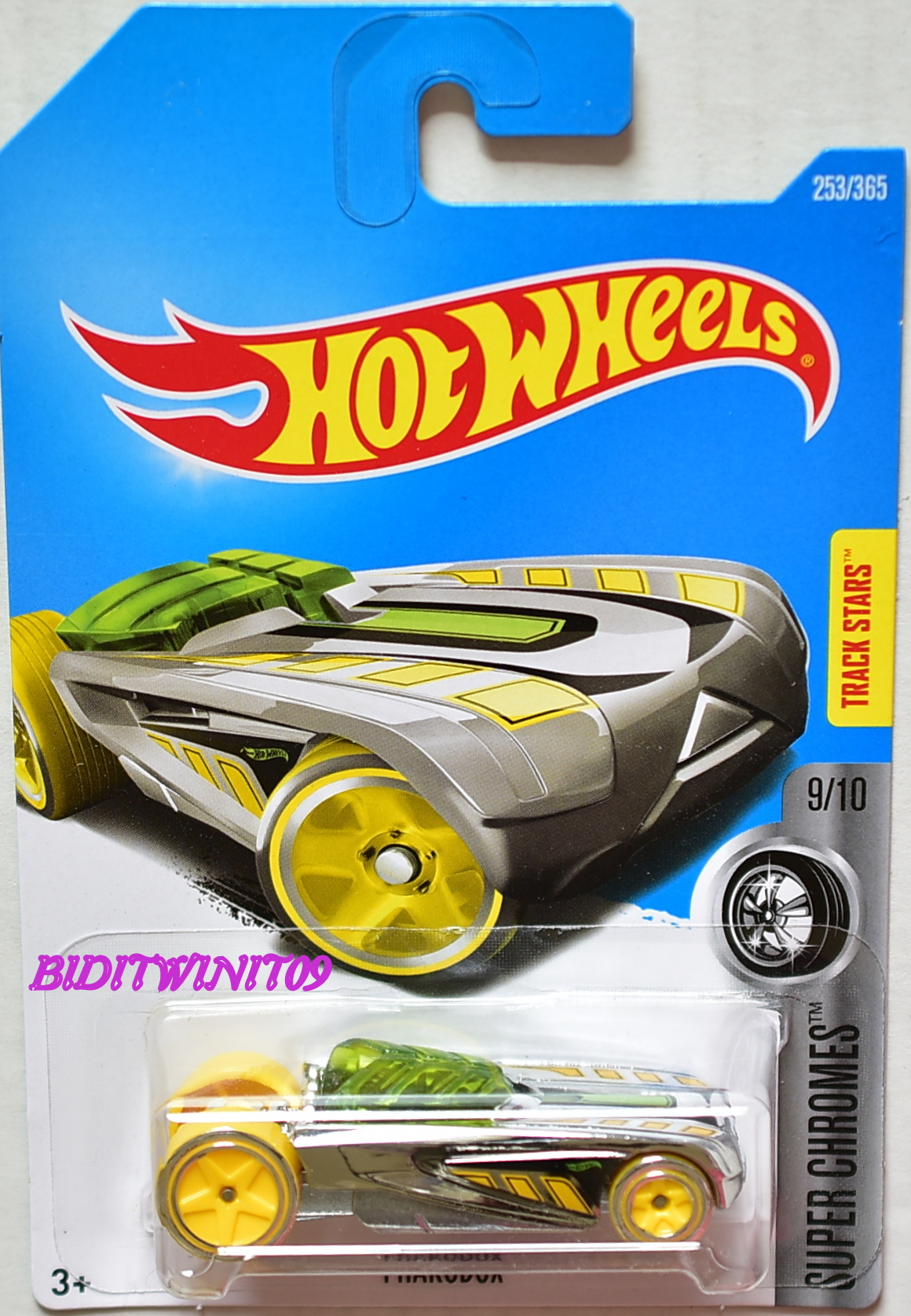 HOT WHEELS 2017 SUPER CHROMES PHARODOX #9/10