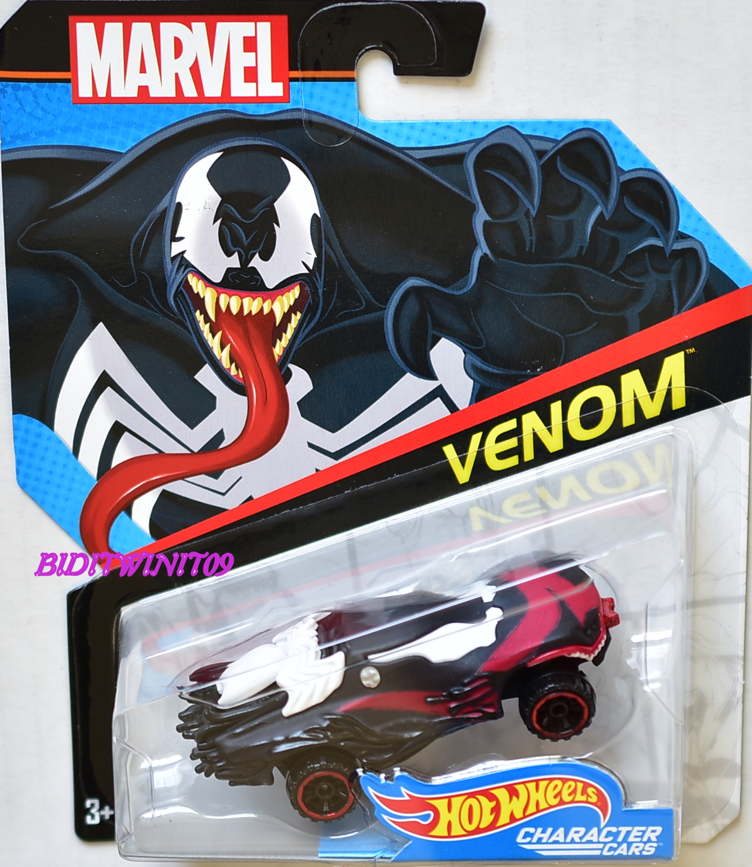 HOT WHEELS 2017 MARVEL VENOM
