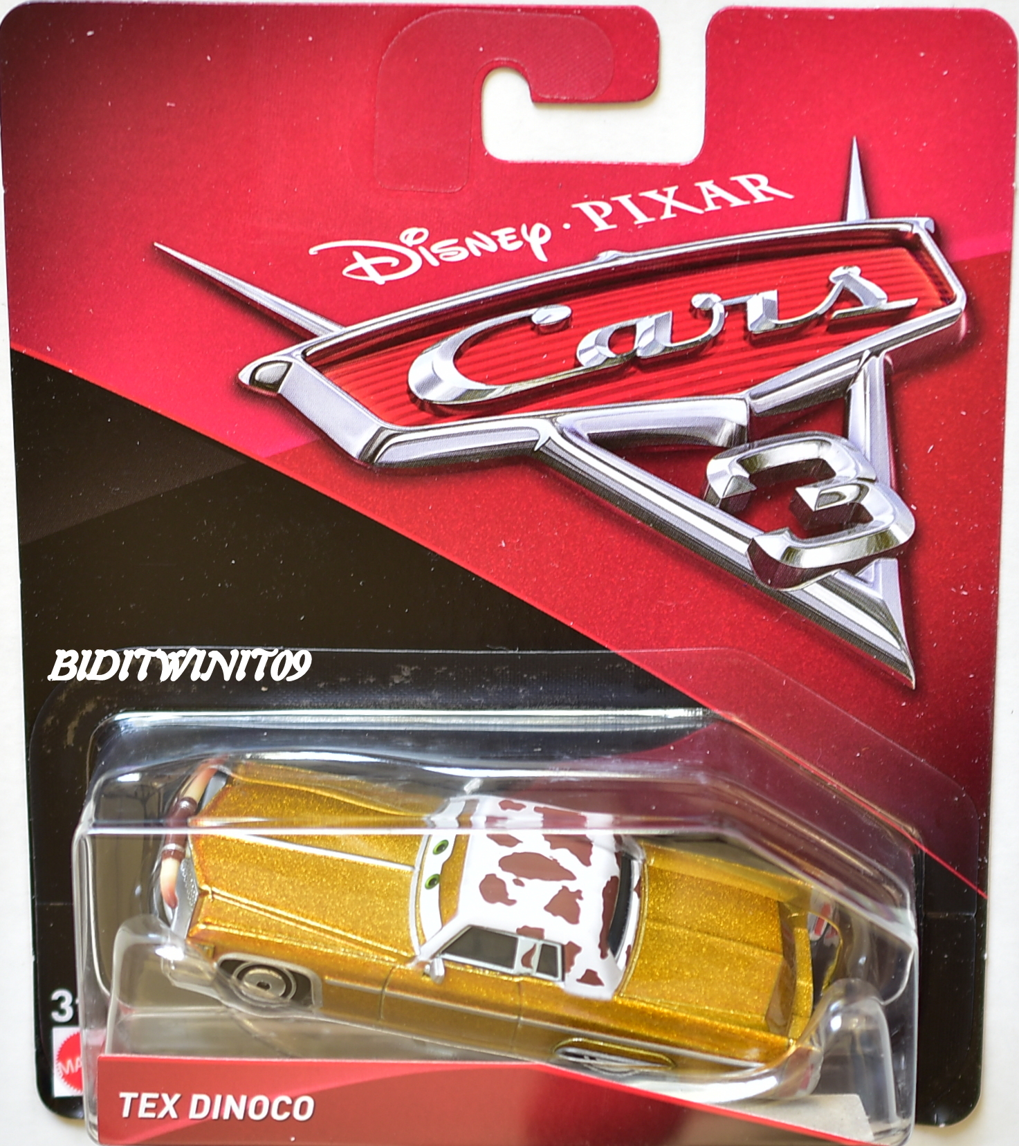 DISNEY PIXAR CARS 3 2017 TEX DINOCO