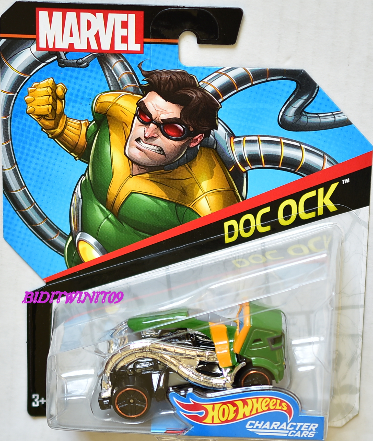 HOT WHEELS 2017 MARVEL CHARACTER CARS DOC OCK