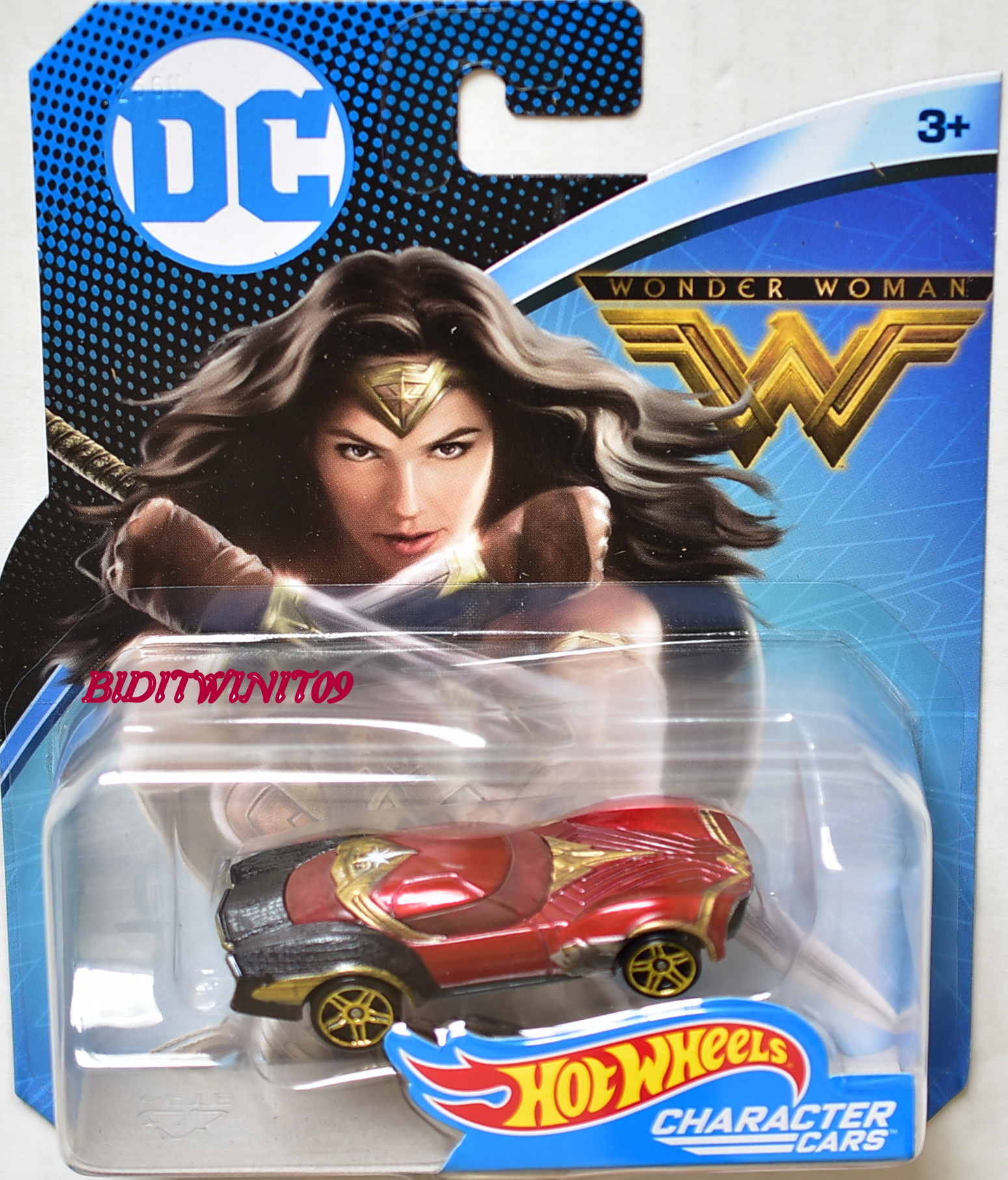HOT WHEELS 2017 DC COMICS CHARACTER CARS WONDER WOMAN