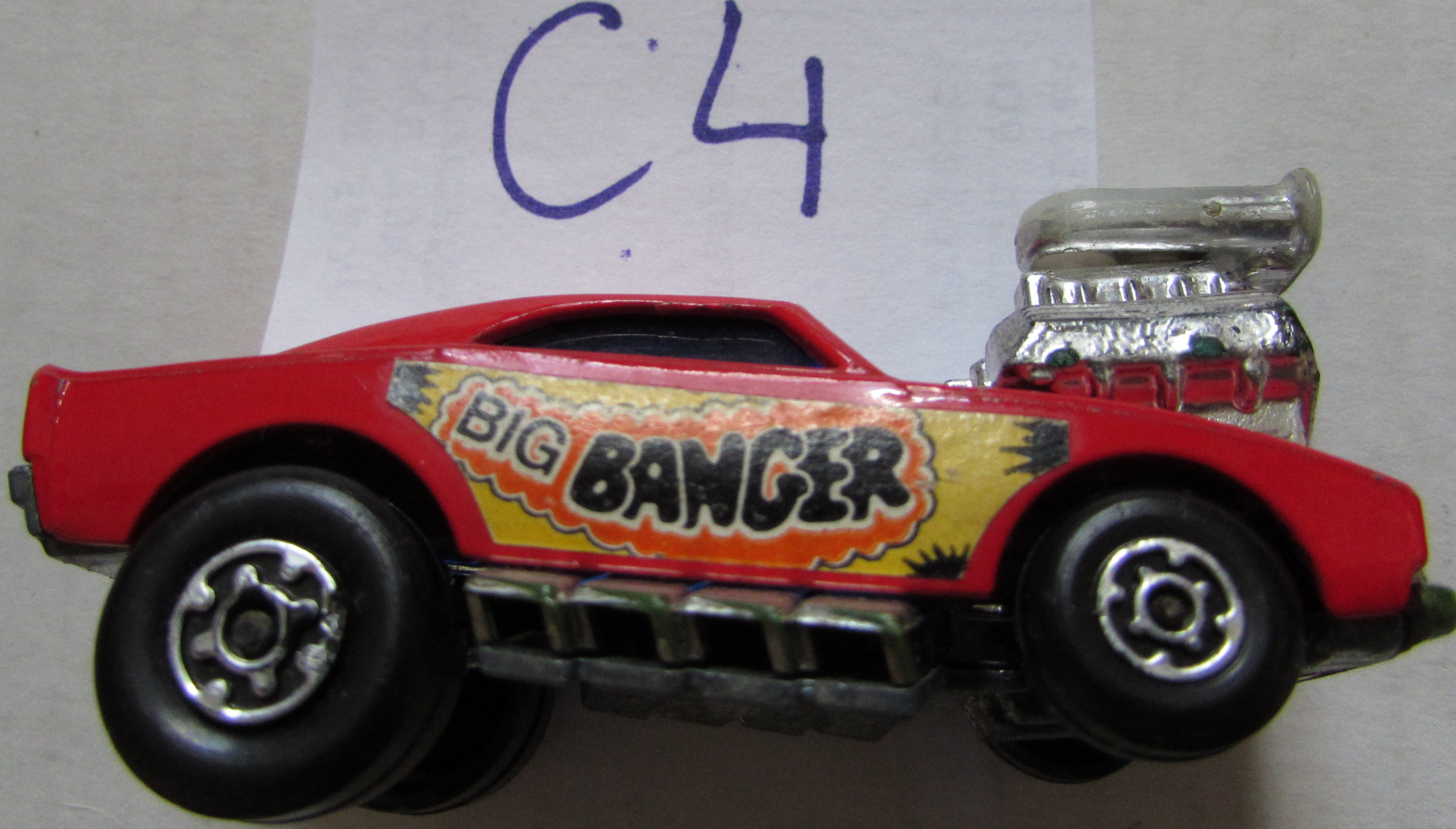 MATCHBOX BIG BANGER RED 68 CHARGER #28 E+