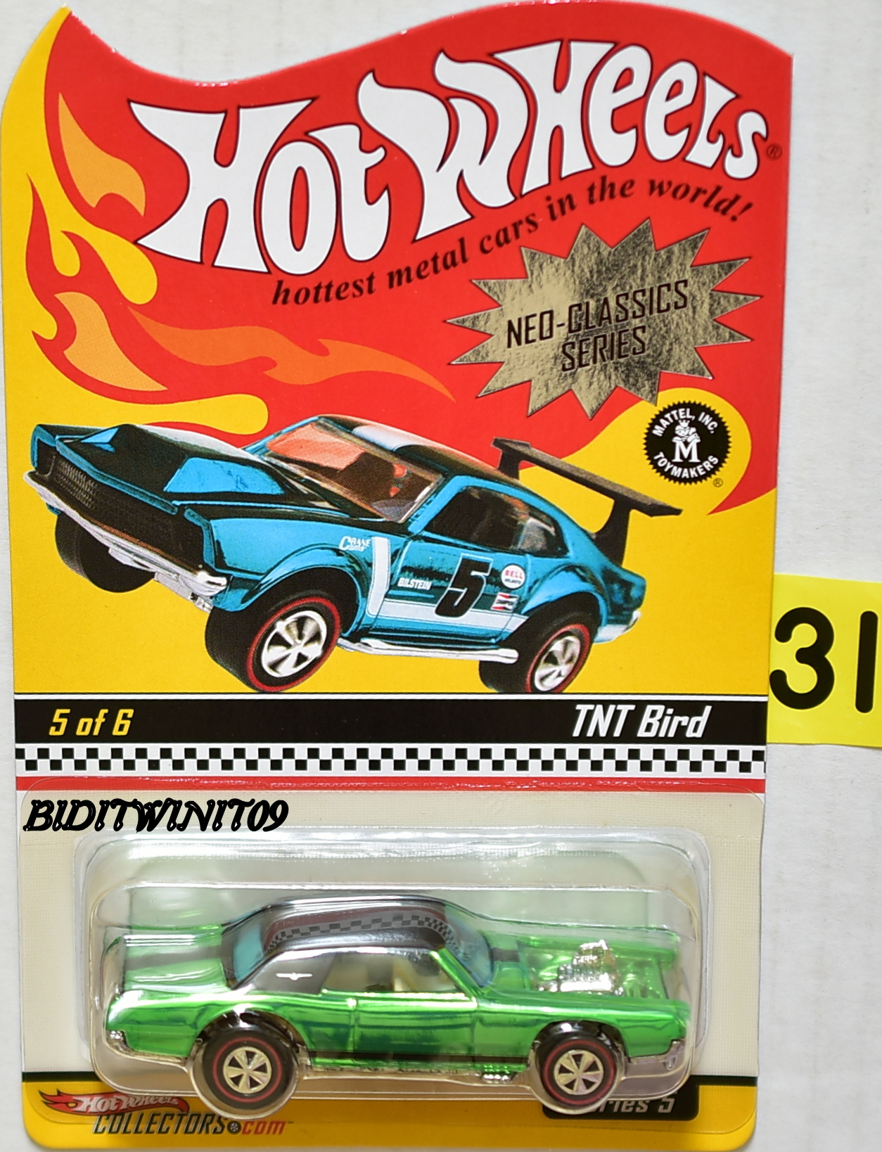 HOT WHEELS 2006 NEO-CLASSICS SERIES #5/6 SERIES 5 TNT BIRD