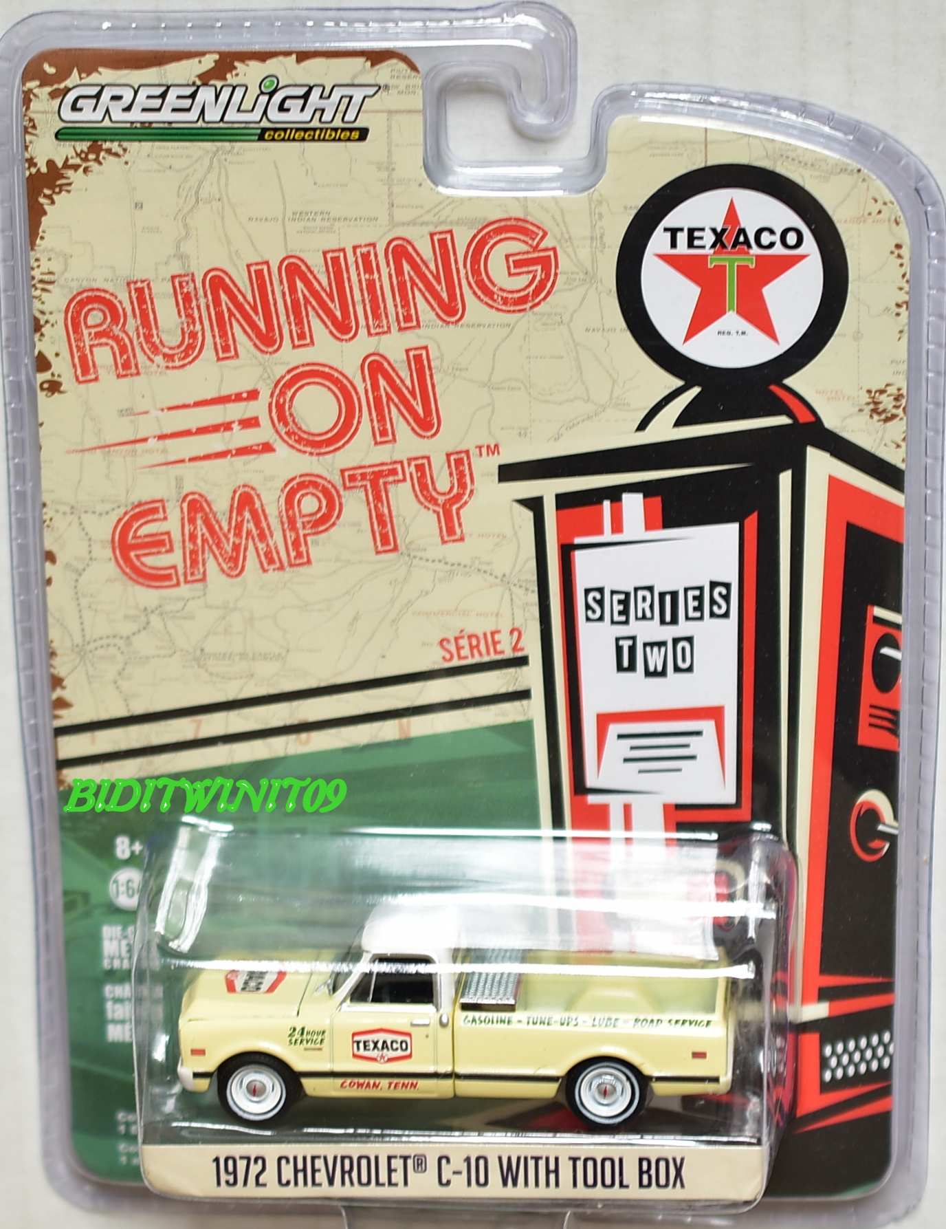 GREENLIGHT RUNNING ON EMPTY 1972 CHEVROLET C-10 WITH TOOL BOX SERIES 2