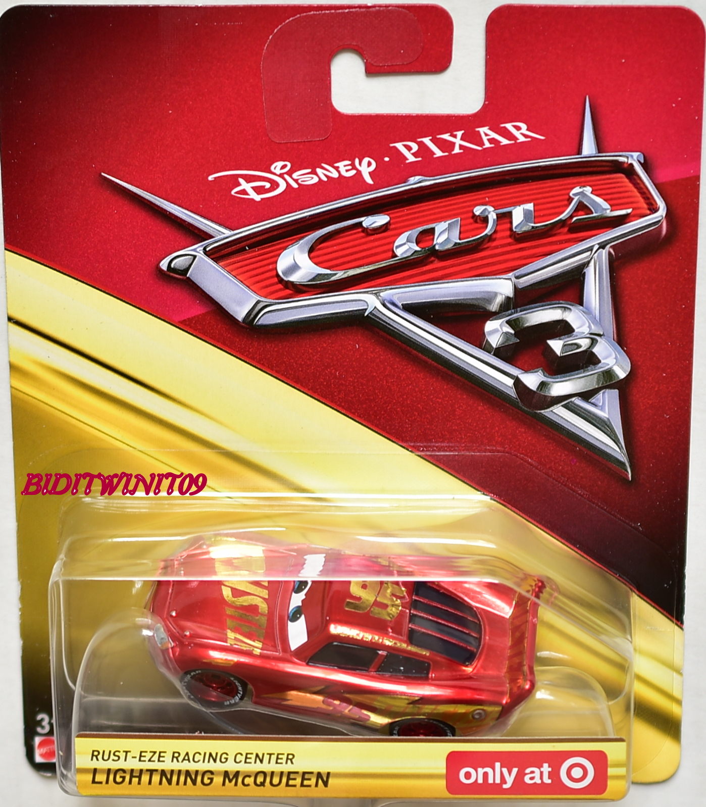Disney Pixar Cars 3 Rust Eze Racing Center Lightning Mcqueen Only