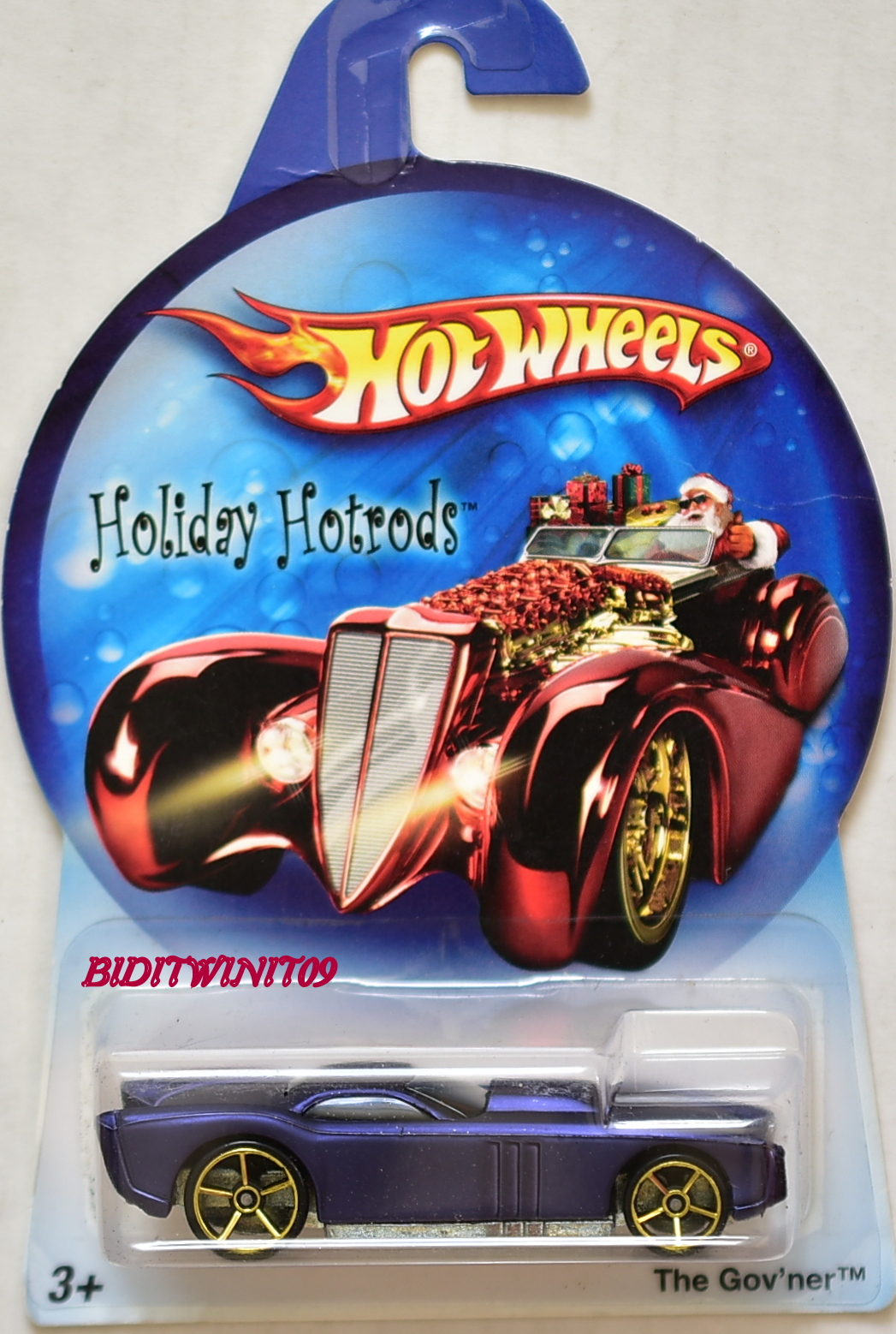 HOT WHEELS HOLIDAY HOT RODS THE GOV'NER