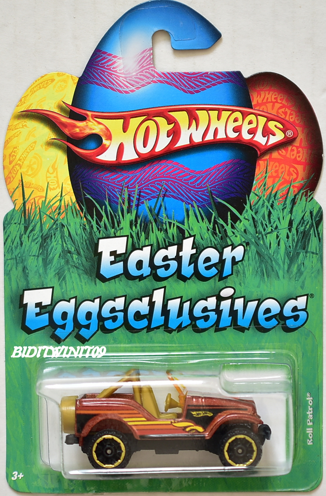 HOT WHEELS 2010 EASTER EGG-CLUSIVES ROLL PATROL E+