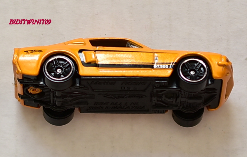 HOT WHEELS 2012 MYSTERY MODELS '67 SHELBY GT 500 #07 LOOSE
