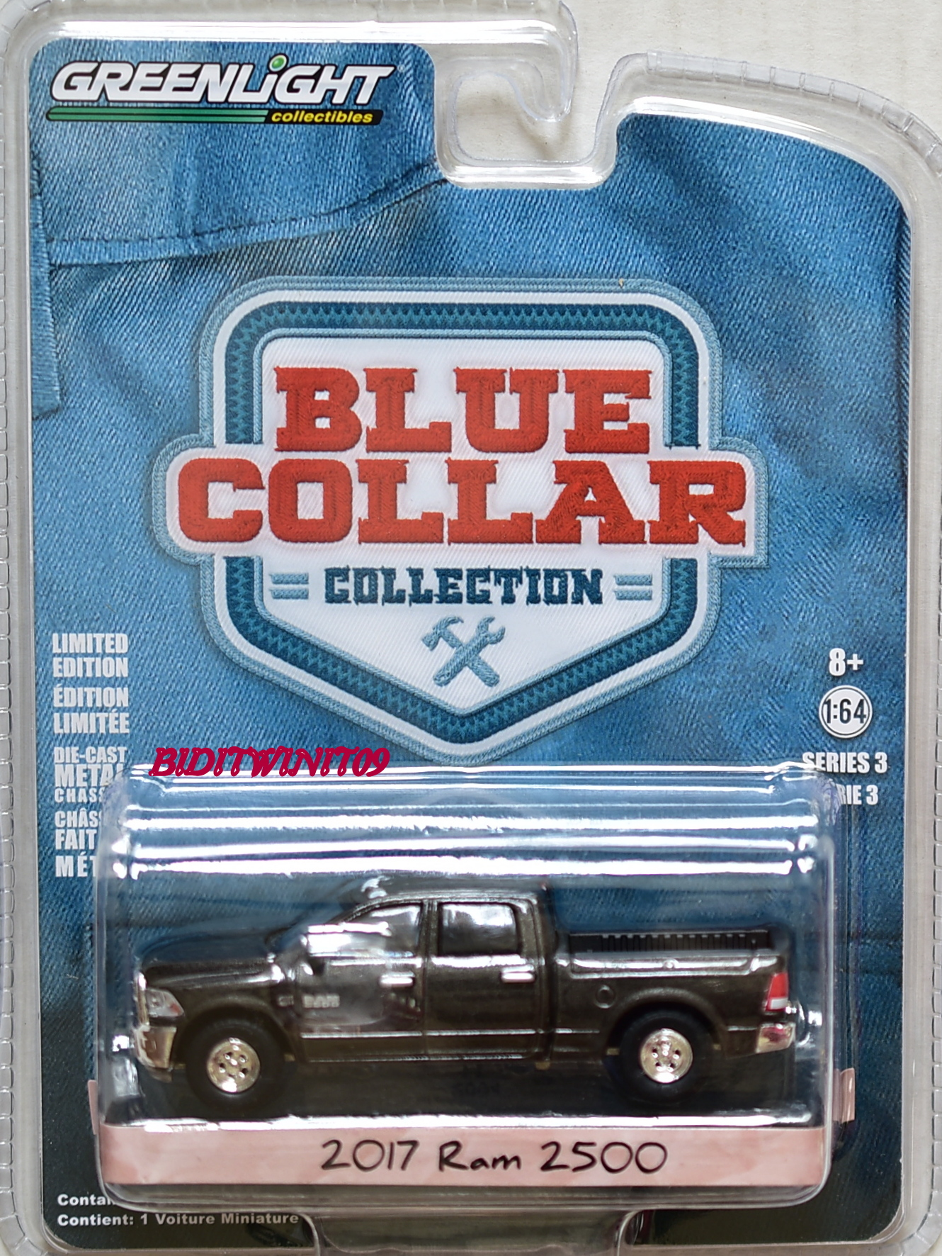 GREENLIGHT BLUE COLLAR SERIES 3 2017 RAM 2500