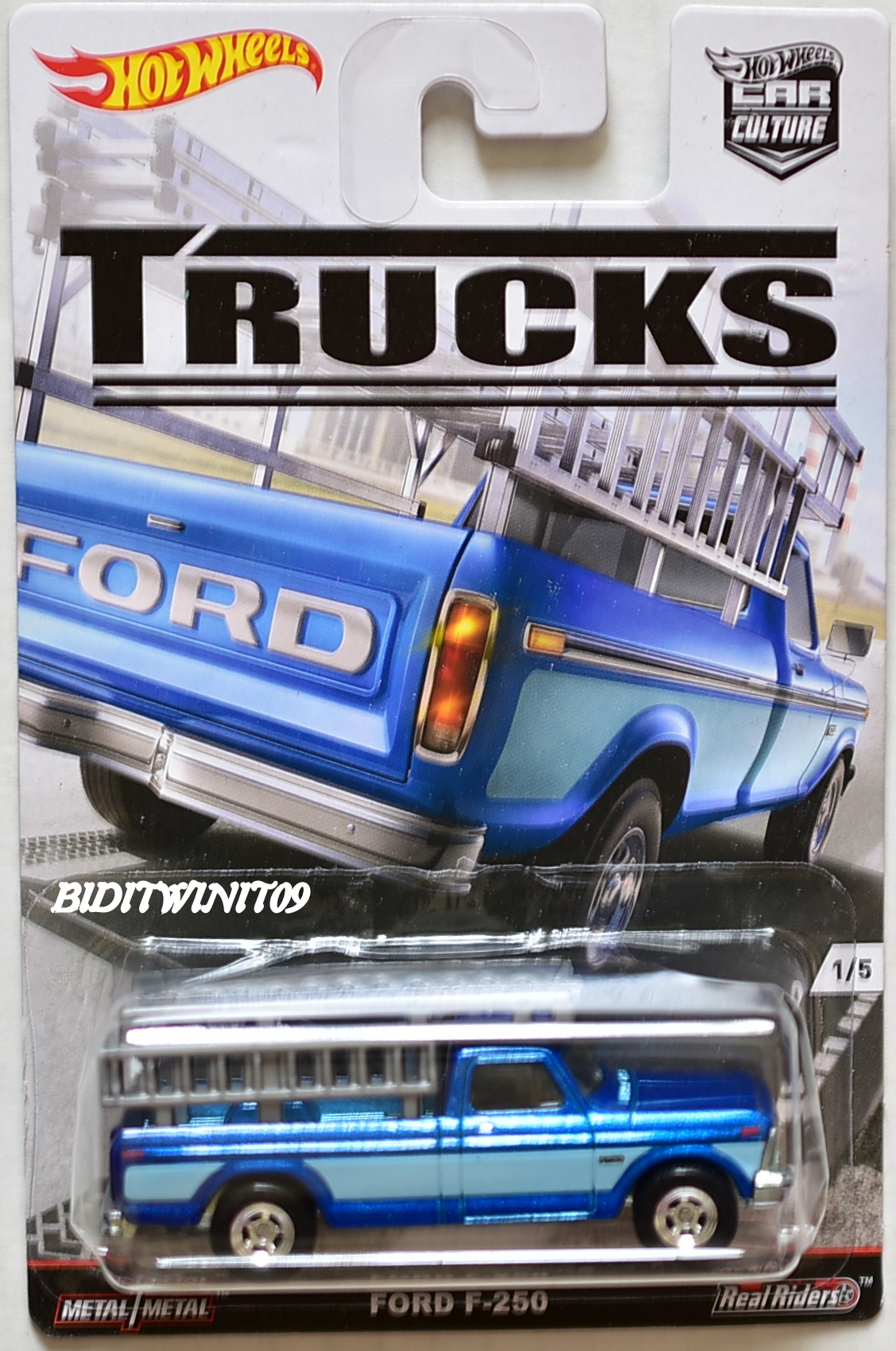Hot Wheels 2016 Car Culture Trucks Series Ford F 250 0007300
