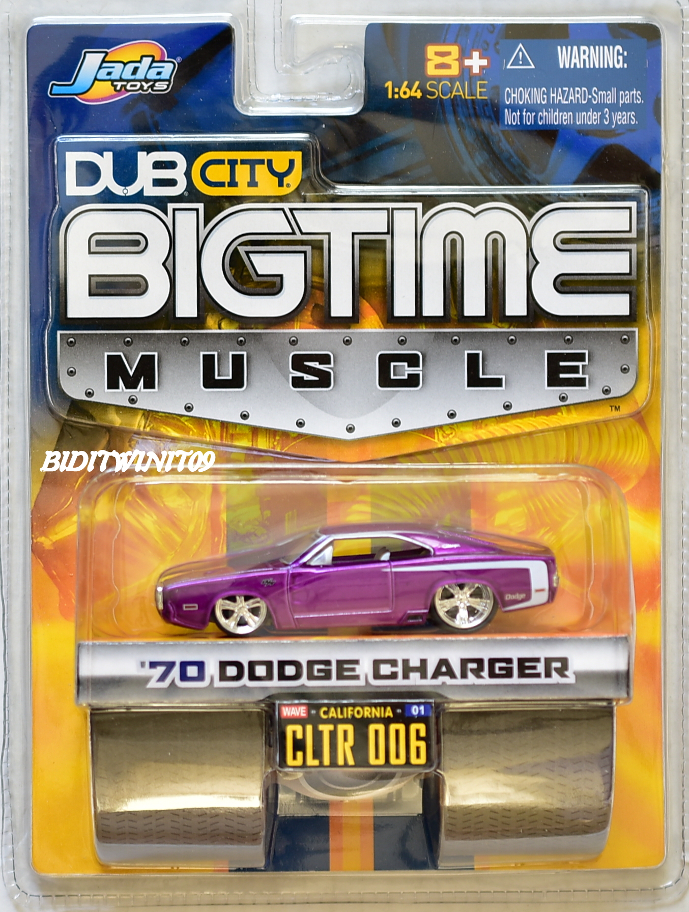 JADA DUB CITY BIGTIME MUSCLE '70 DODGE CHARGER 006