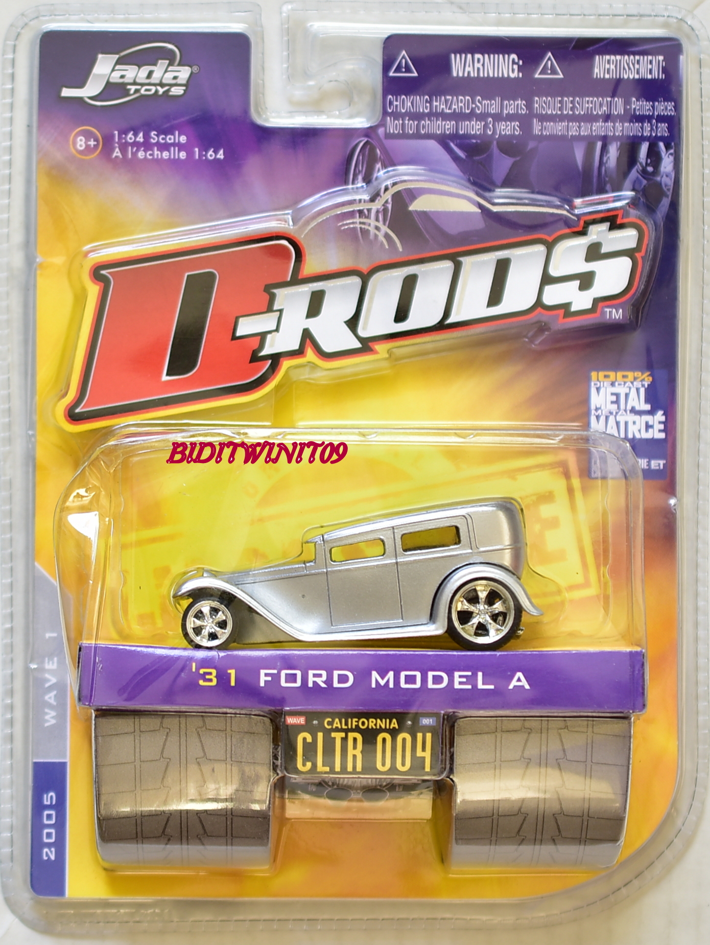 JADA TOYS D-RODS '31 FORD MODEL A CLTR 004 E+