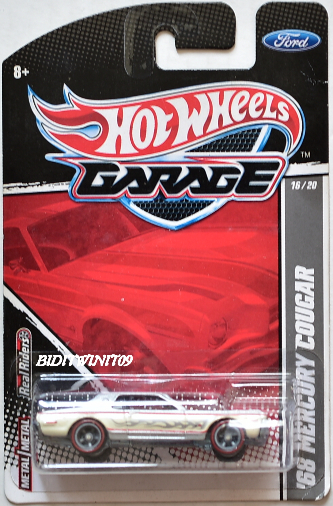 HOT WHEELS 2011 GARAGE '68 MERCURY COUGAR #16/20