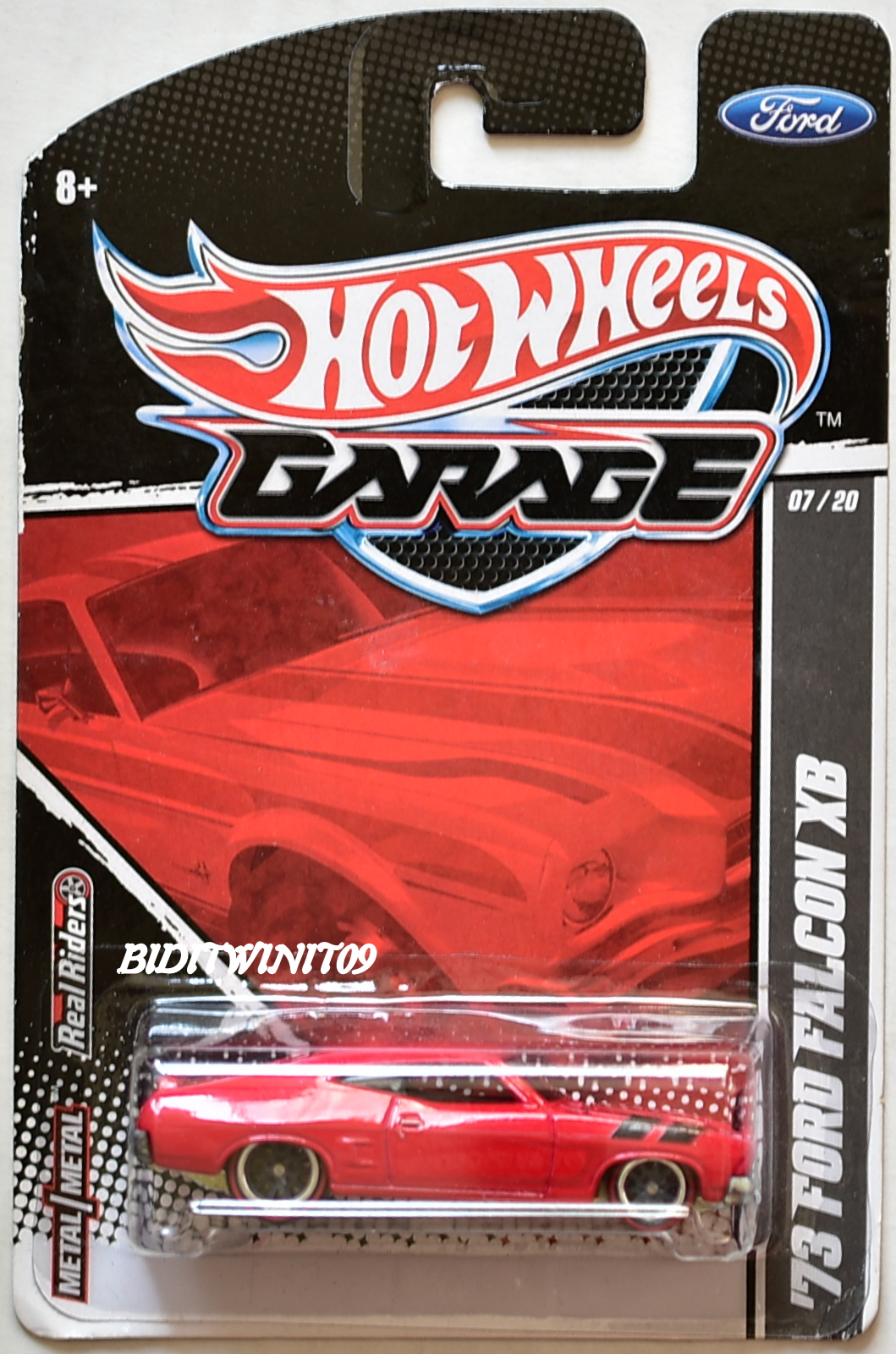 HOT WHEELS GARAGE '73 FORD FALCON XB #07/20