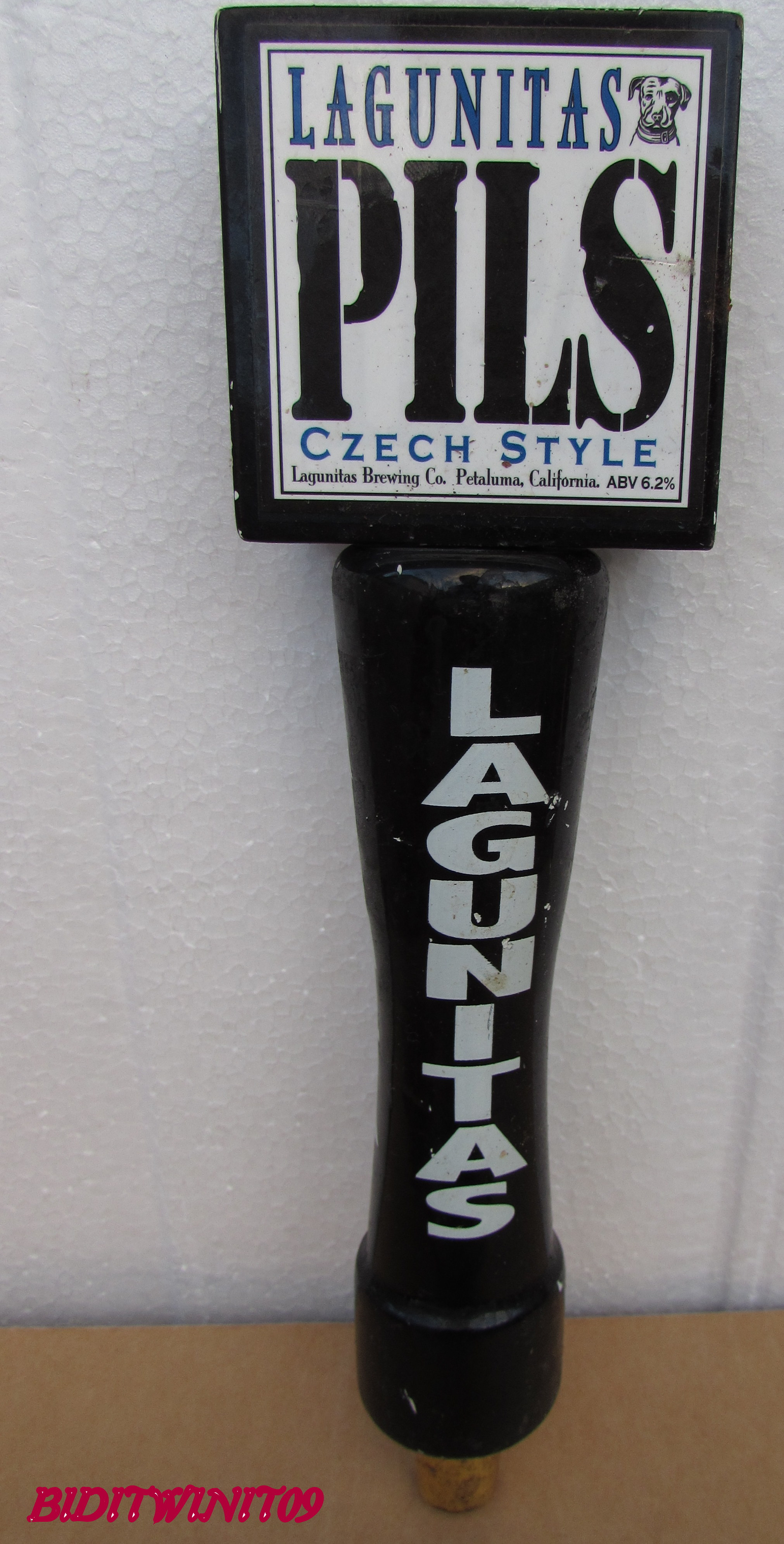 BEER TAP HANDLE LAGUNITAS IPA E+