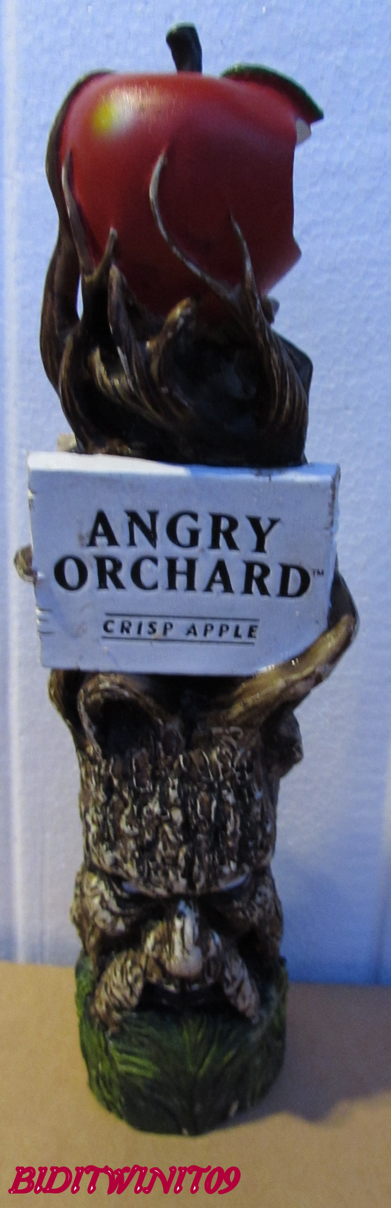 BEER TAP HANDLE ANGRY ORCHARD E+