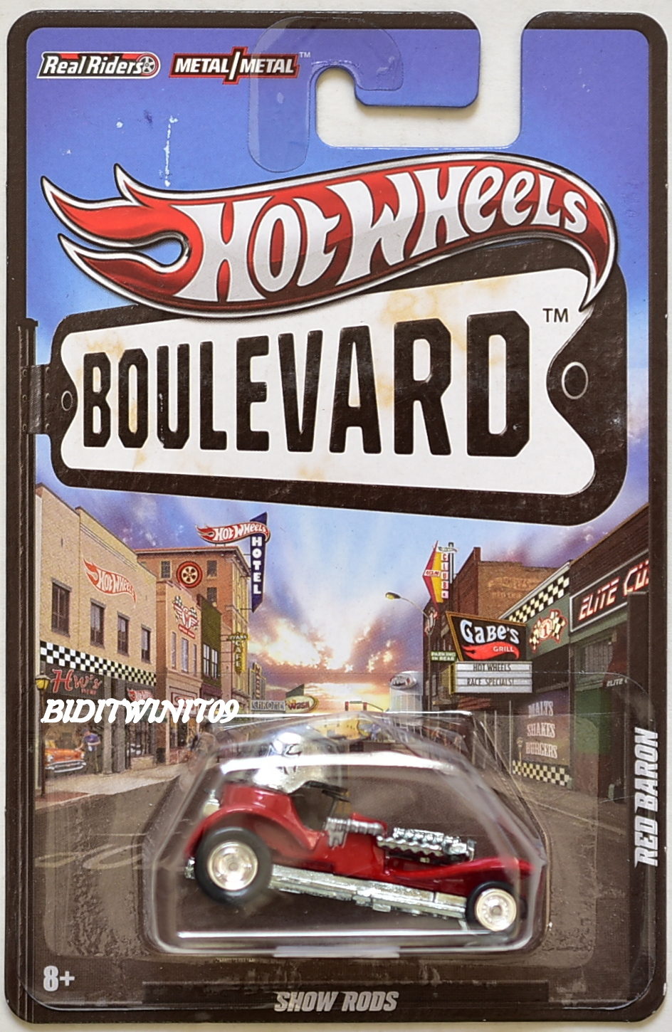 HOT WHEELS BOULEVARD SHOW RODS RED BARON