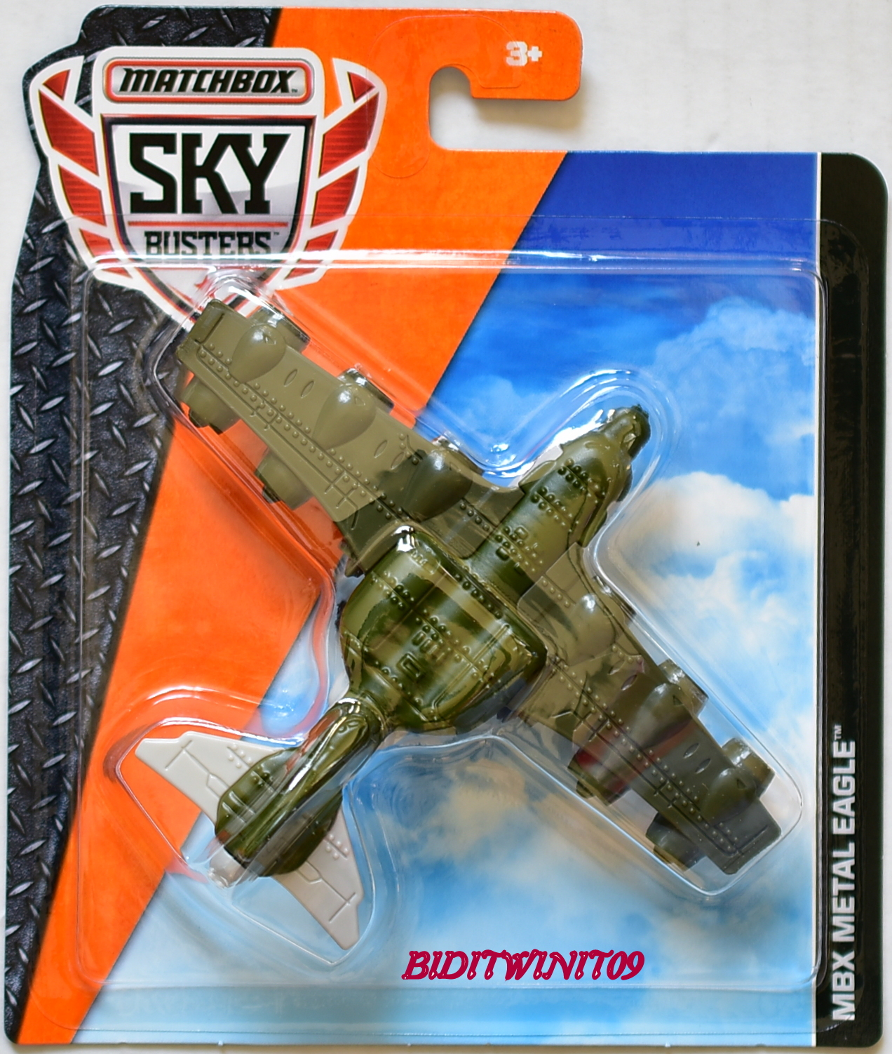 MATCHBOX 2016 SKY BUSTERS MBX METAL EAGLE