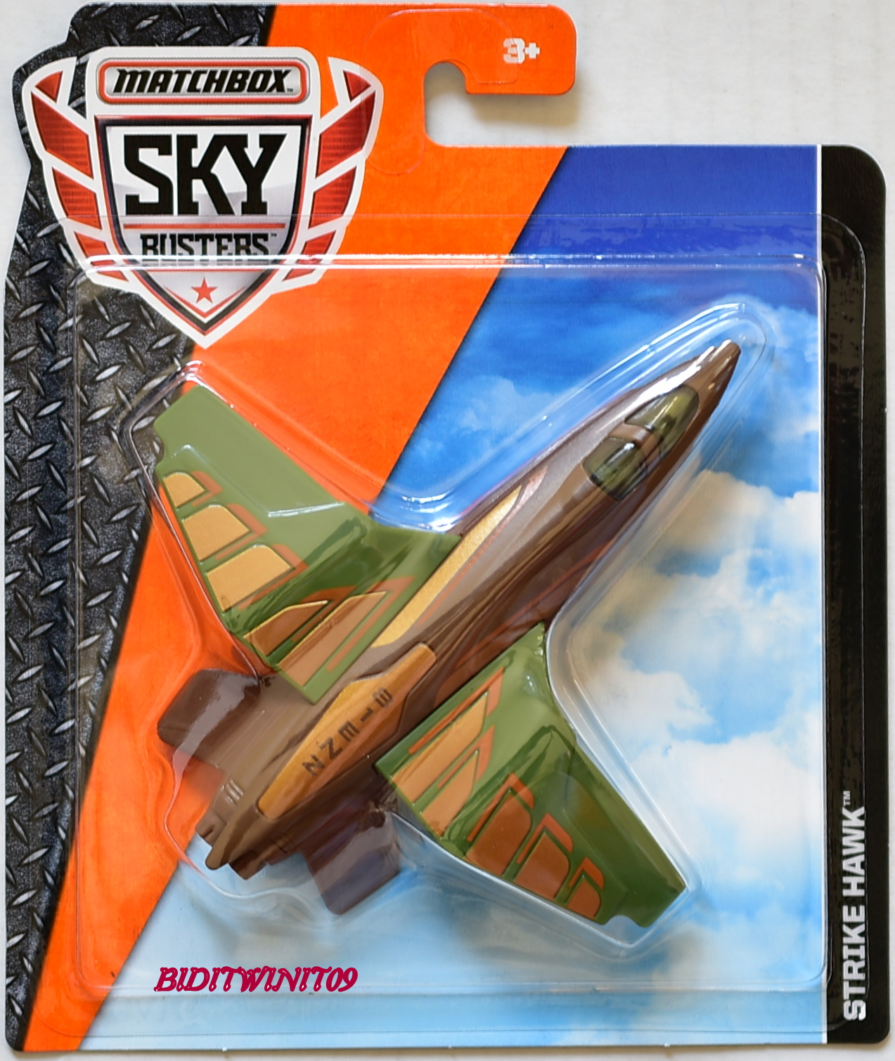 MATCHBOX 2016 SKY BUSTERS STRIKE HAWK