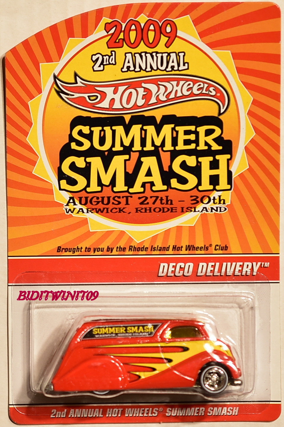 HOT WHEELS 2009 2ND ANNUAL CONVENTION SUMMER SMASH DECO DELIVERY 2573/4000