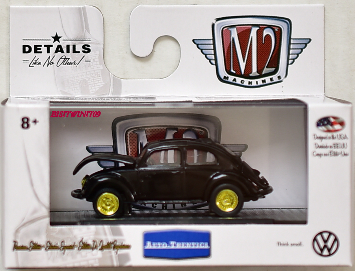 M2 MACHINE 2018 AUTO-THENTICS 1953 VW BEETLE DELUXE U.S.A. MODEL VW05