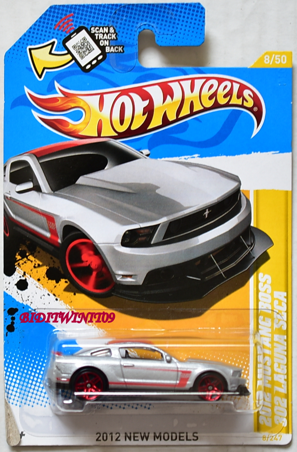 HOT WHEELS 2012 NEW MODELS 2012 MUSTANG BOSS 302 LAGUNA SECA