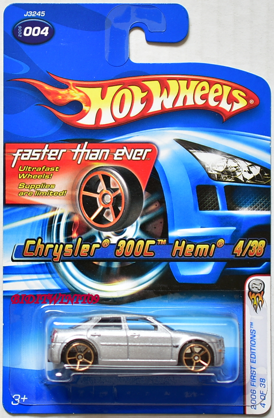 HOT WHEELS 2006 FIRST EDITIONS FTE CHRYSLER 300C HEMI #004