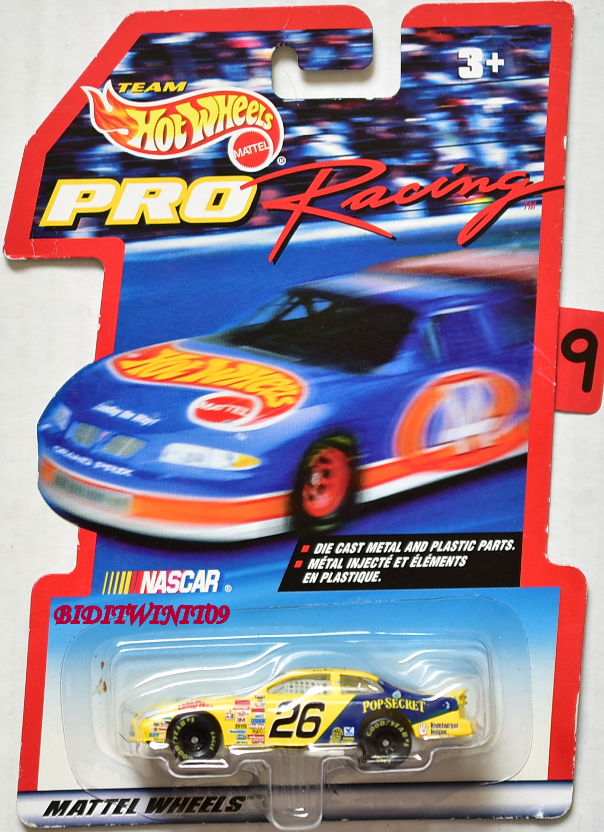 HOT WHEELS PRO RACING 1998 #26 FORD TAURUS TED MUSGRAVE E+