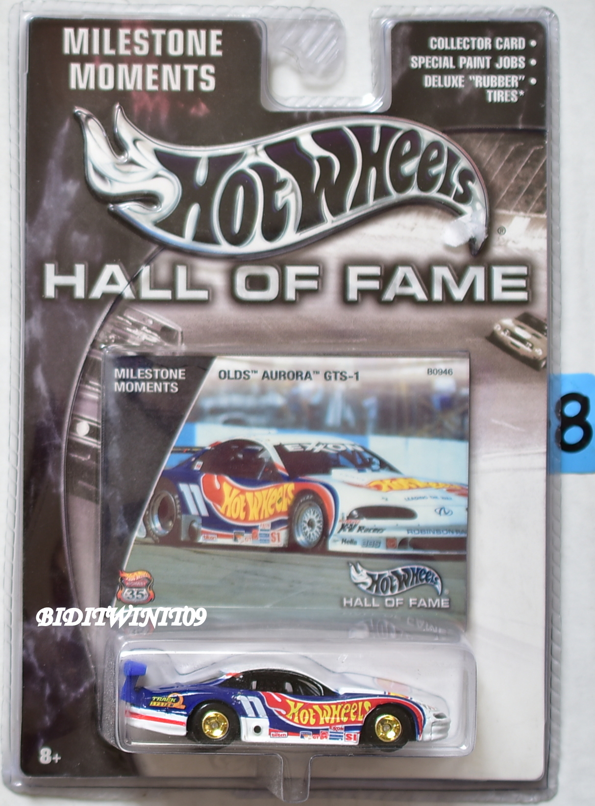 HOT WHEELS HALL OF FAME OLDS AURORA GTS-1 MILESTONE MOMENTS