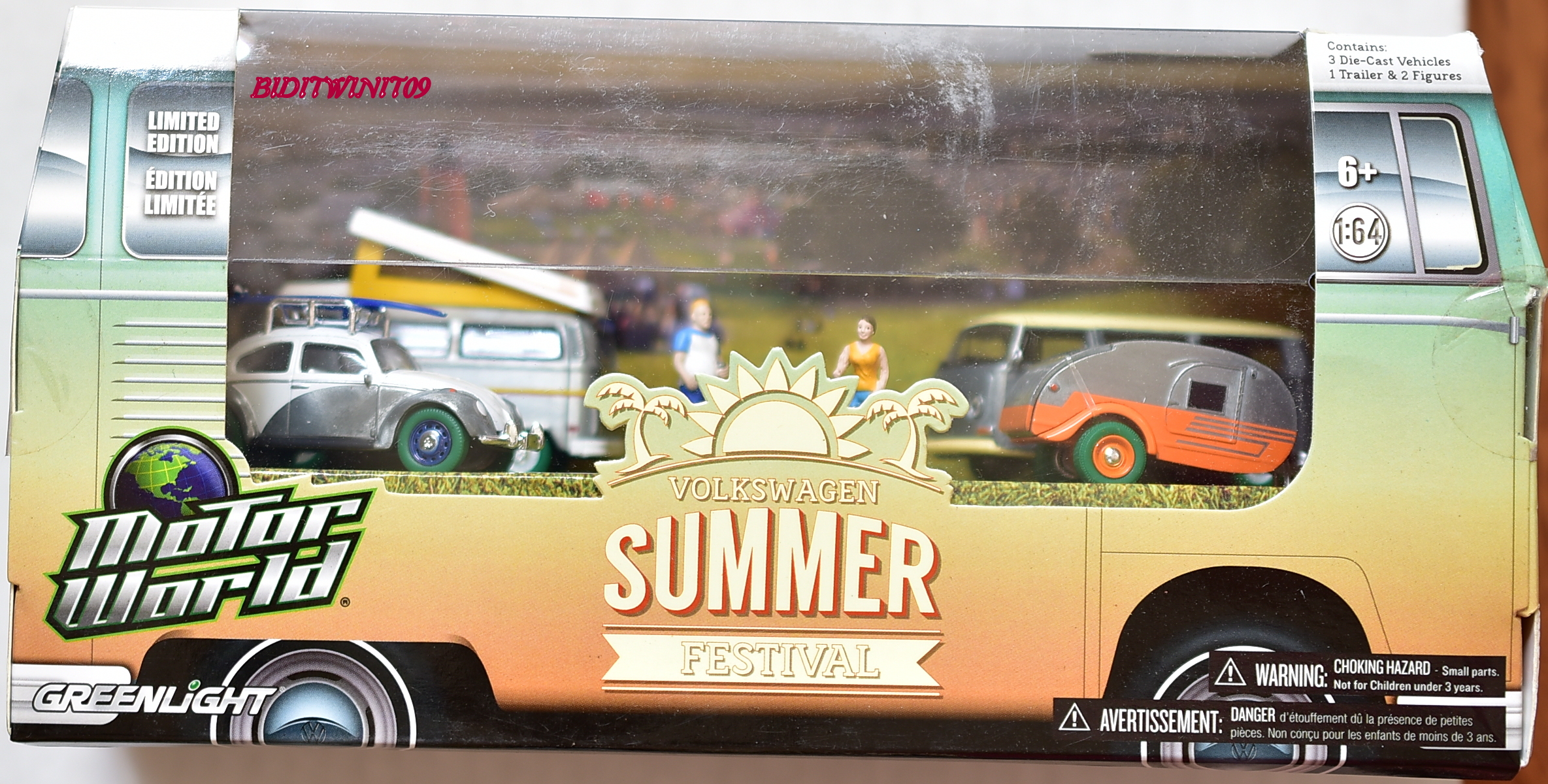 GREENLIGHT MOTOR WORLD VOLKSWAGEN SUMMER FESTIVAL GREEN MACHINE E+