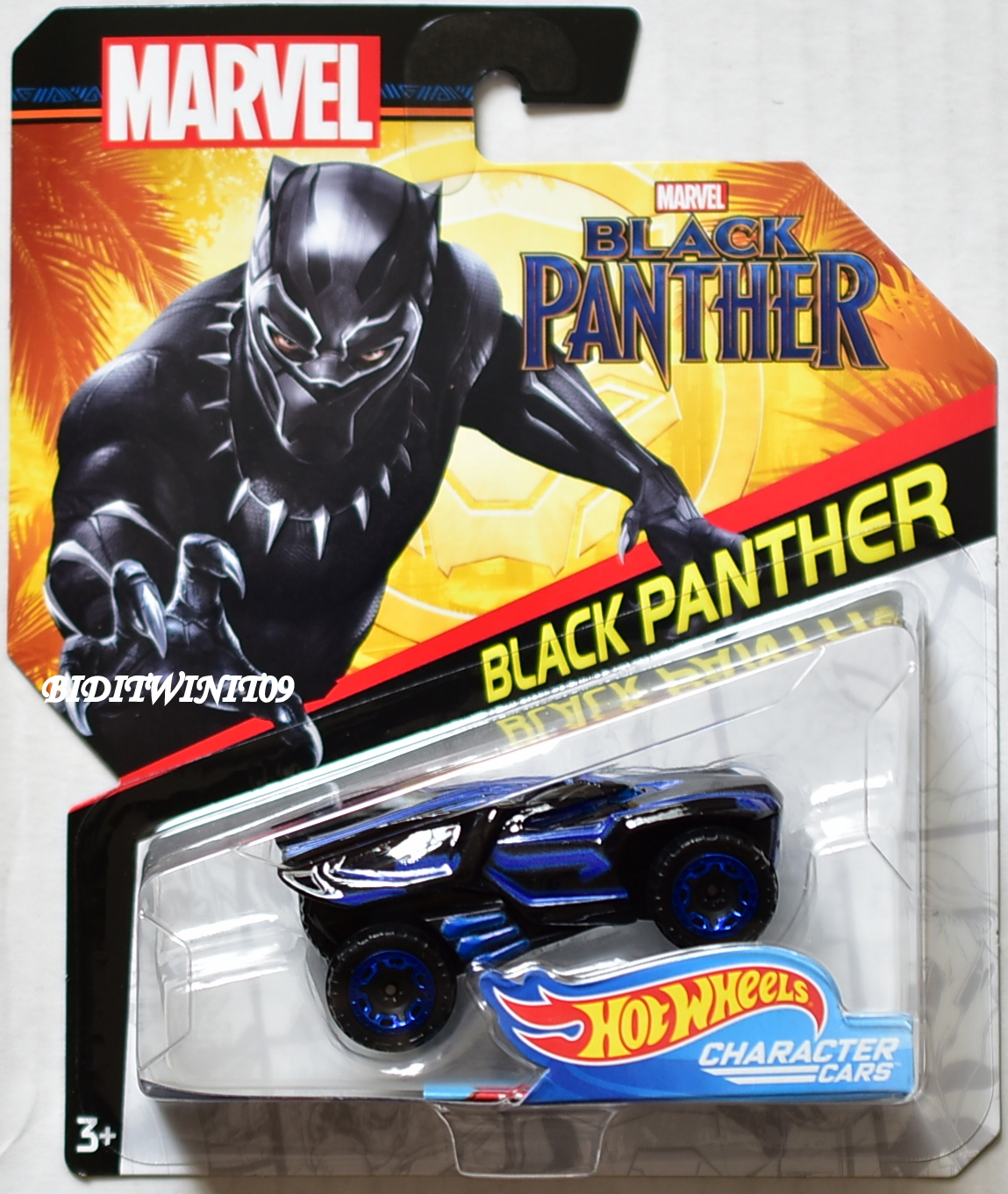 Hot Wheels Character Cars Marvel Avengers Infinity War Black Panther