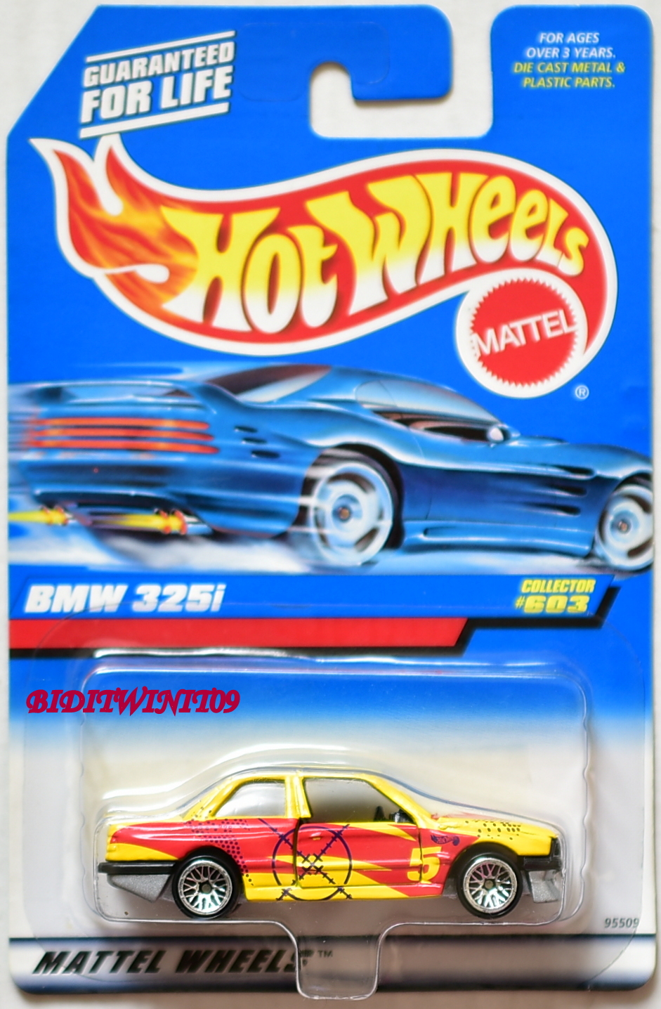 HOT WHEELS 1998 BMW 325I COLLECTOR #603 E+
