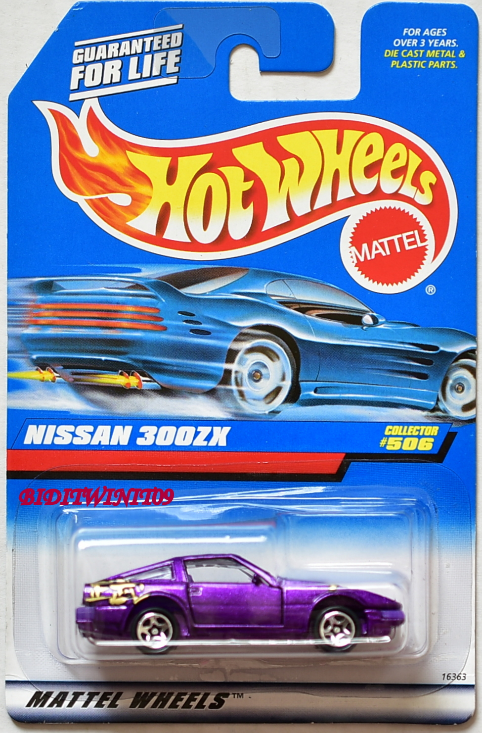 HOT WHEELS 1998 NISSAN 300ZX COLLECTOR #506 PURPLE