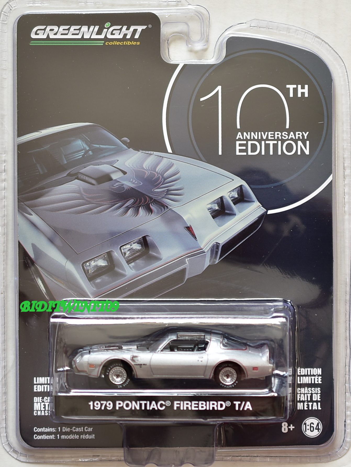 GREENLIGHT ANNIVERSARY SERIES 6 1979 PONTIAC FIREBIRD T/A