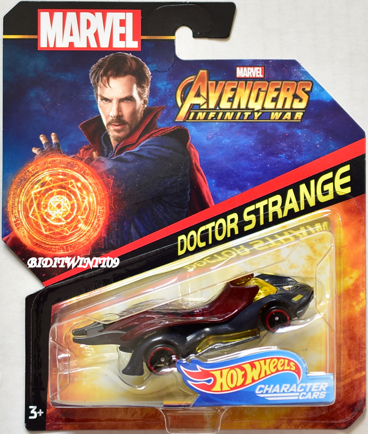 HOT WHEELS MARVEL AVANGERS INFINITY WAR DOCTOR STRANGE CHARACTER CARS